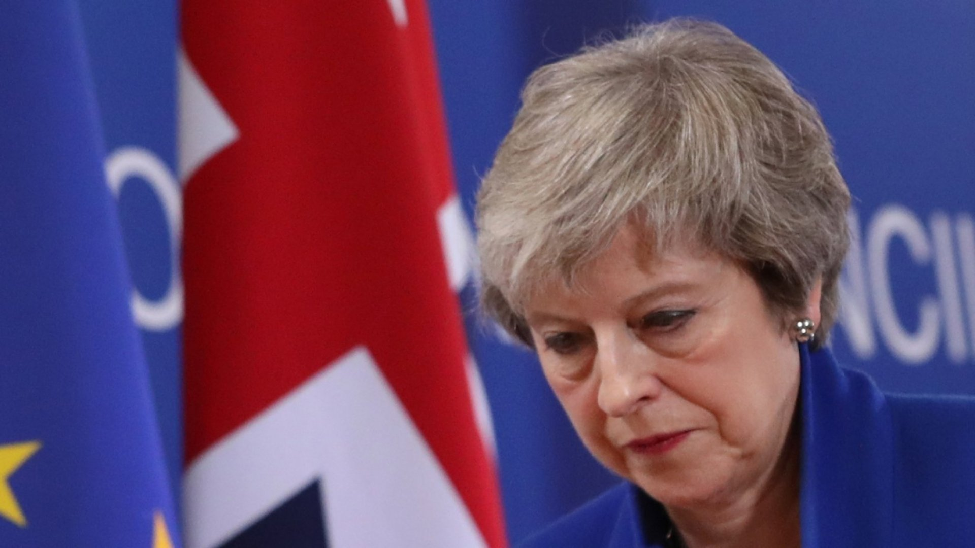 Theresa May Offers to Resign If Her Brexit Deal Passes in Parliament