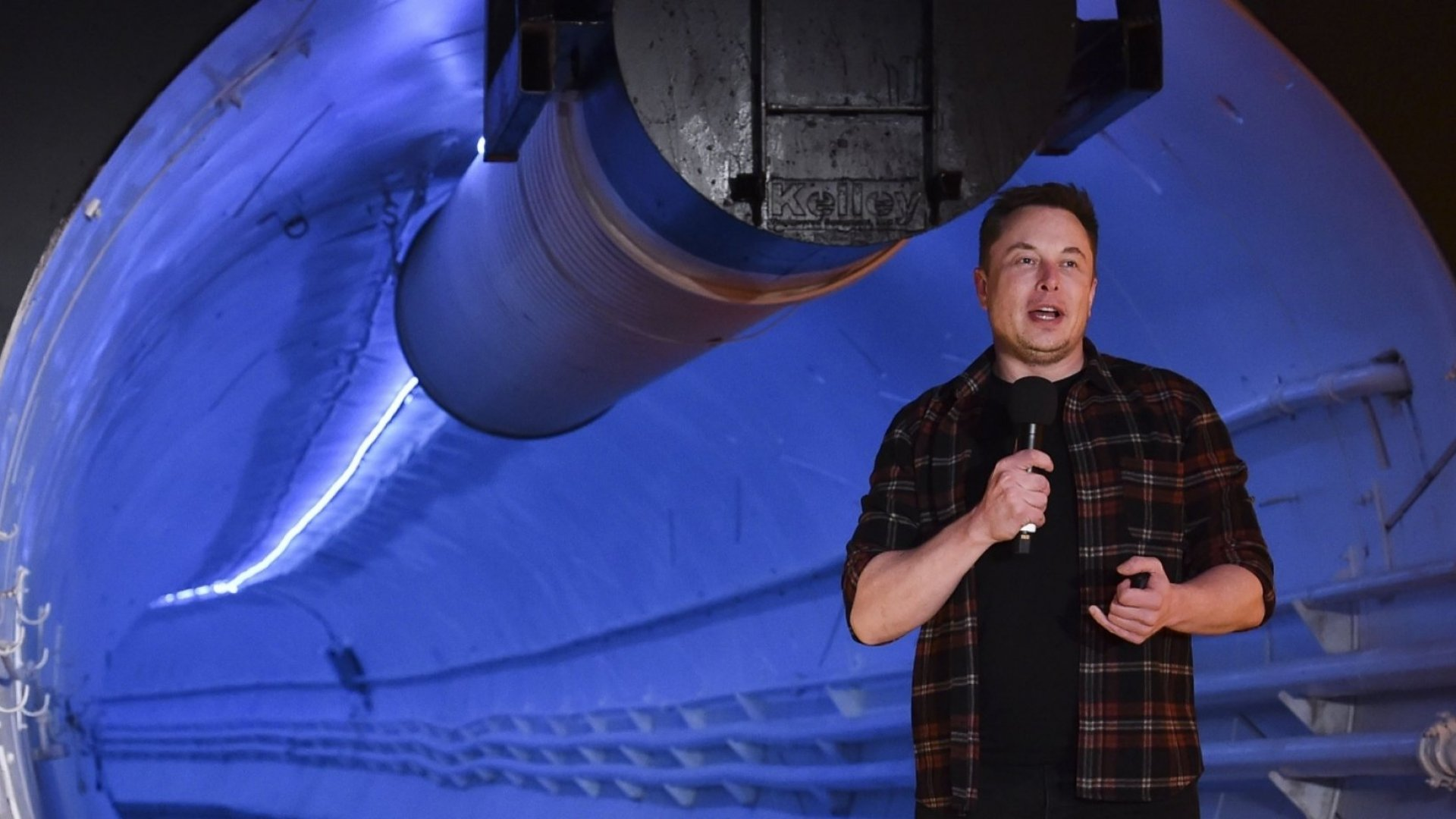 Elon Musk's First Boring Company Tunnel Will Open in Las Vegas in 2020 'Hopefully'