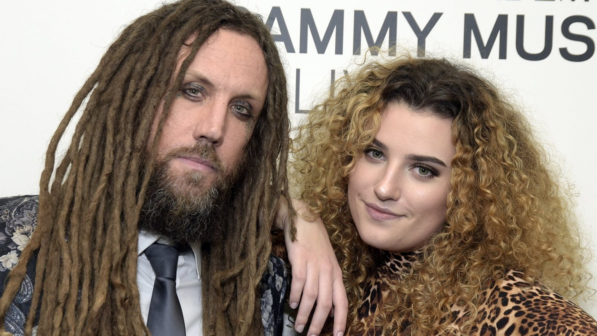Brian Welch and his daughter Jennea.