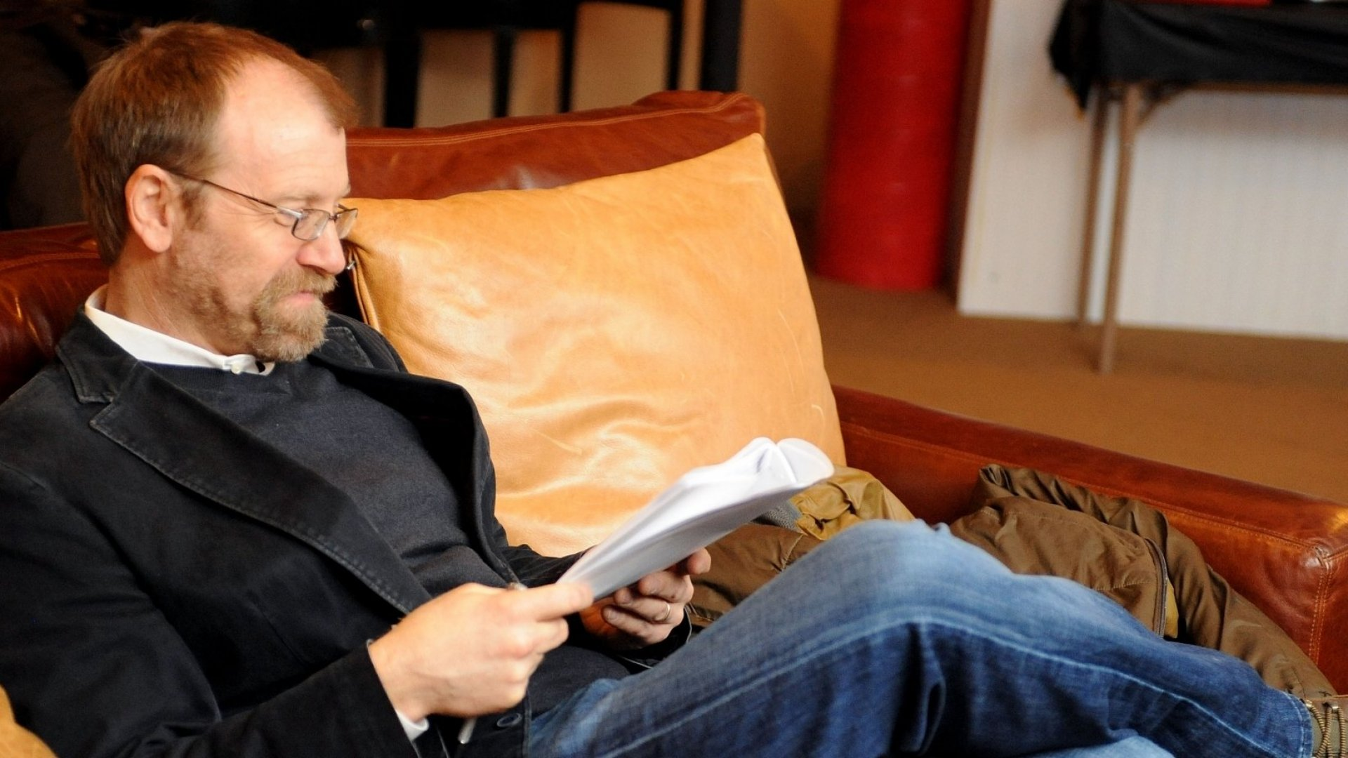 Prizewinning author George Saunders, seen here at the 2011 Sundance Film Festival, is grateful for the role his mentors have played.