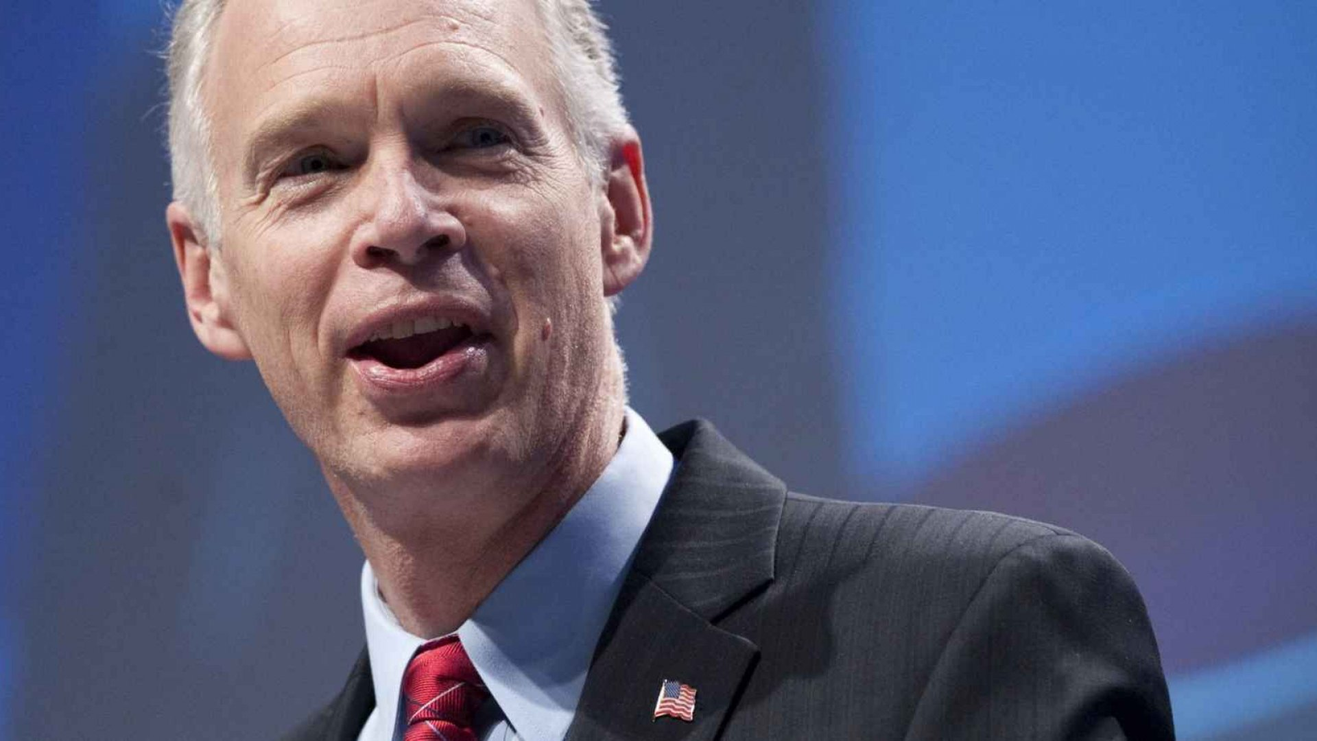 Senator Ron Johnson (R, Wisconsin) addressed a panel on immigration in Washington Tuesday.