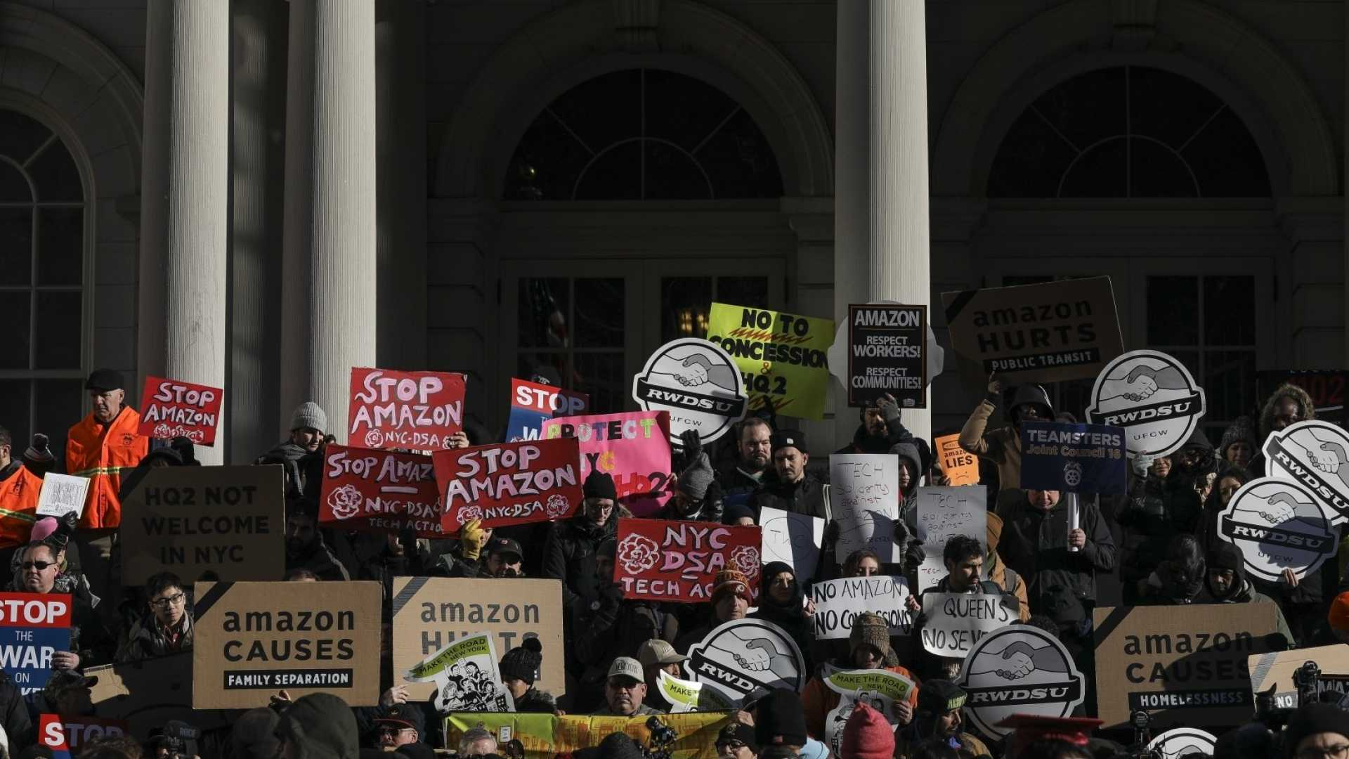 Amazon's New York HQ2 Deal Is in Trouble