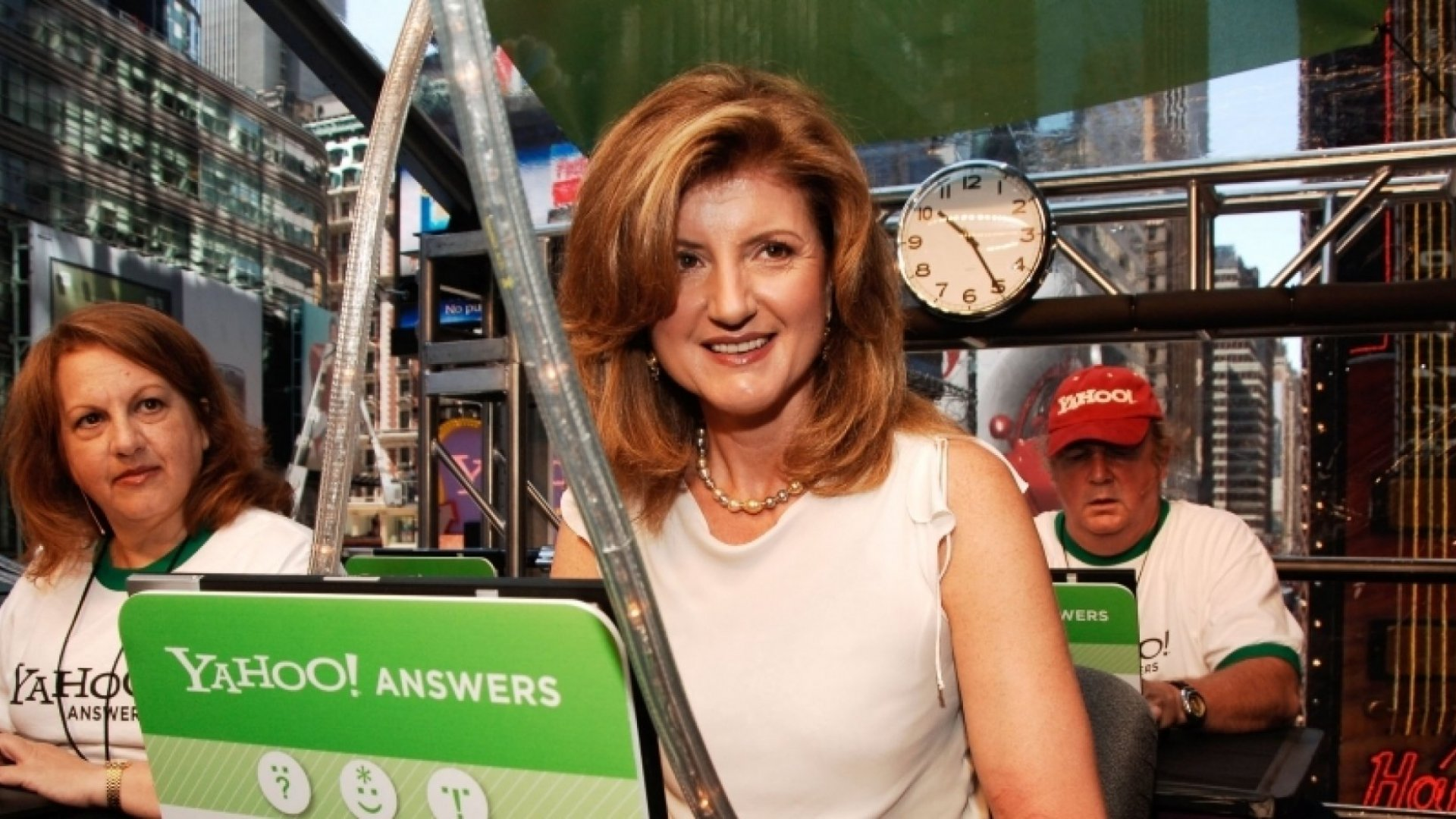 Want to Be Successful? Try Arianna Huffington's 4 Pillars of Success