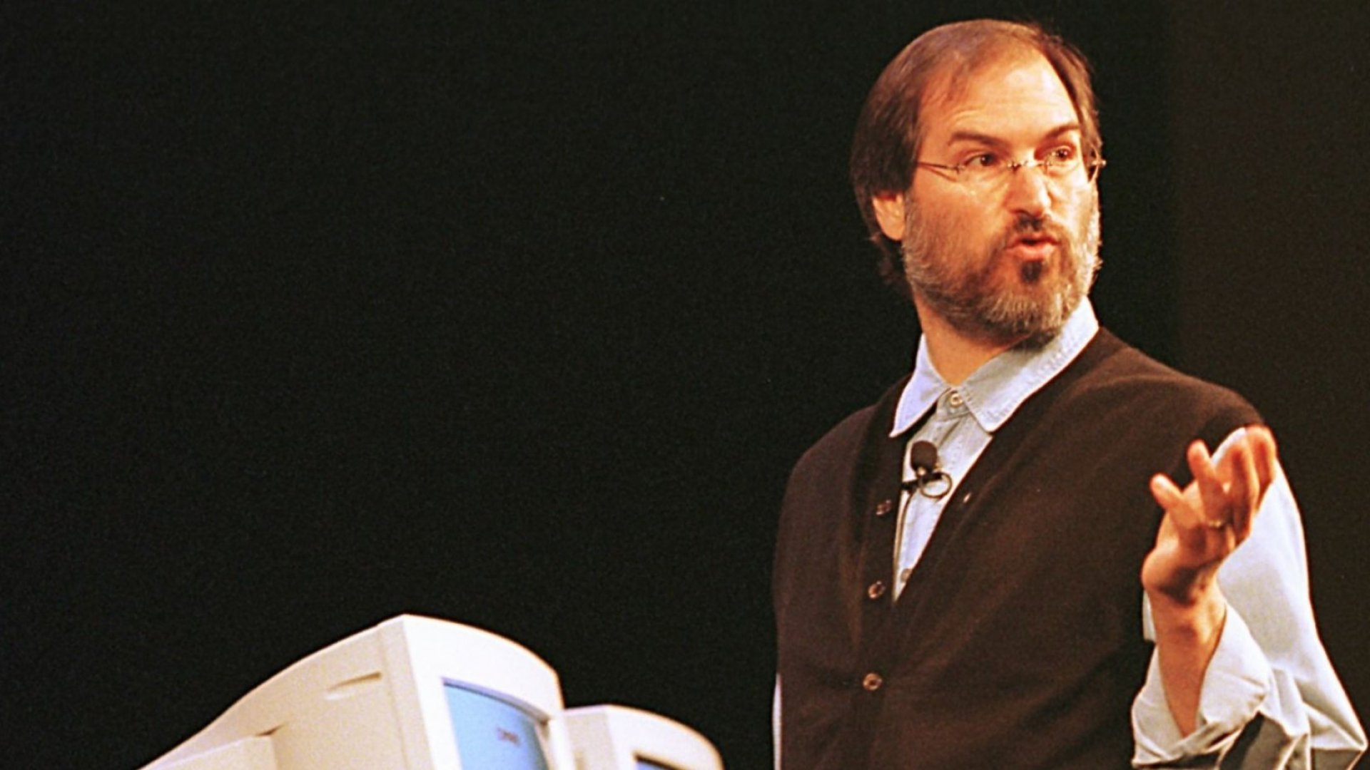 Apple Computers CEO Steve Jobs.