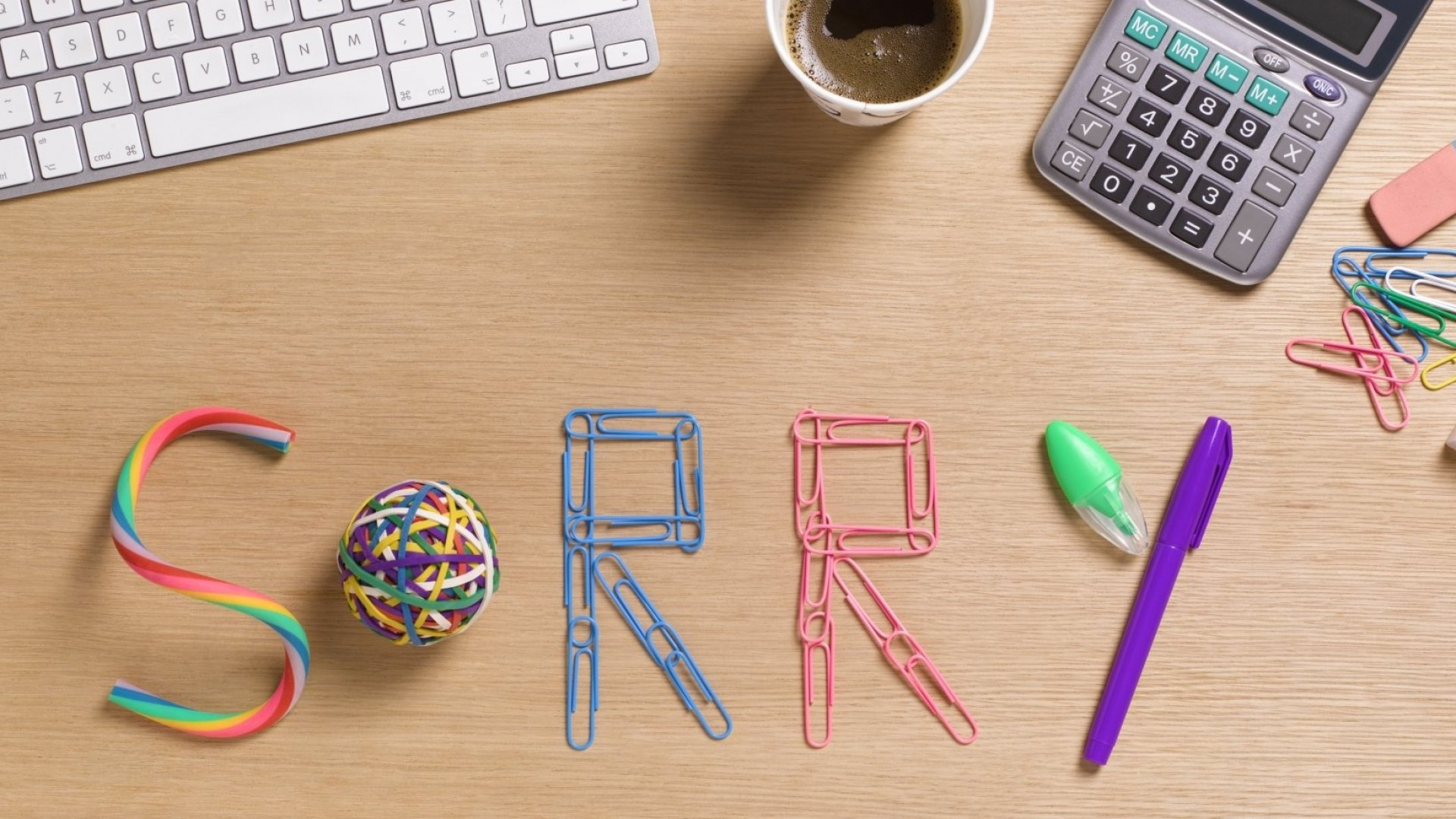 5 Tips to Help You Apologize for Any Workplace Mistake