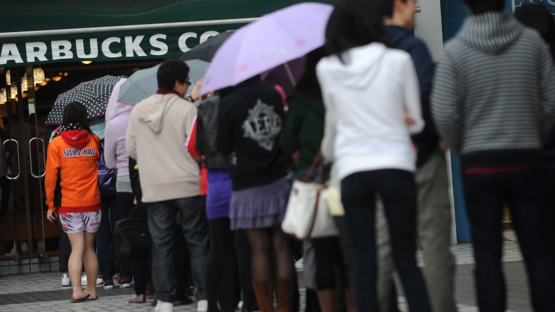 Why the Line at Starbucks Has Gotten Even Longer