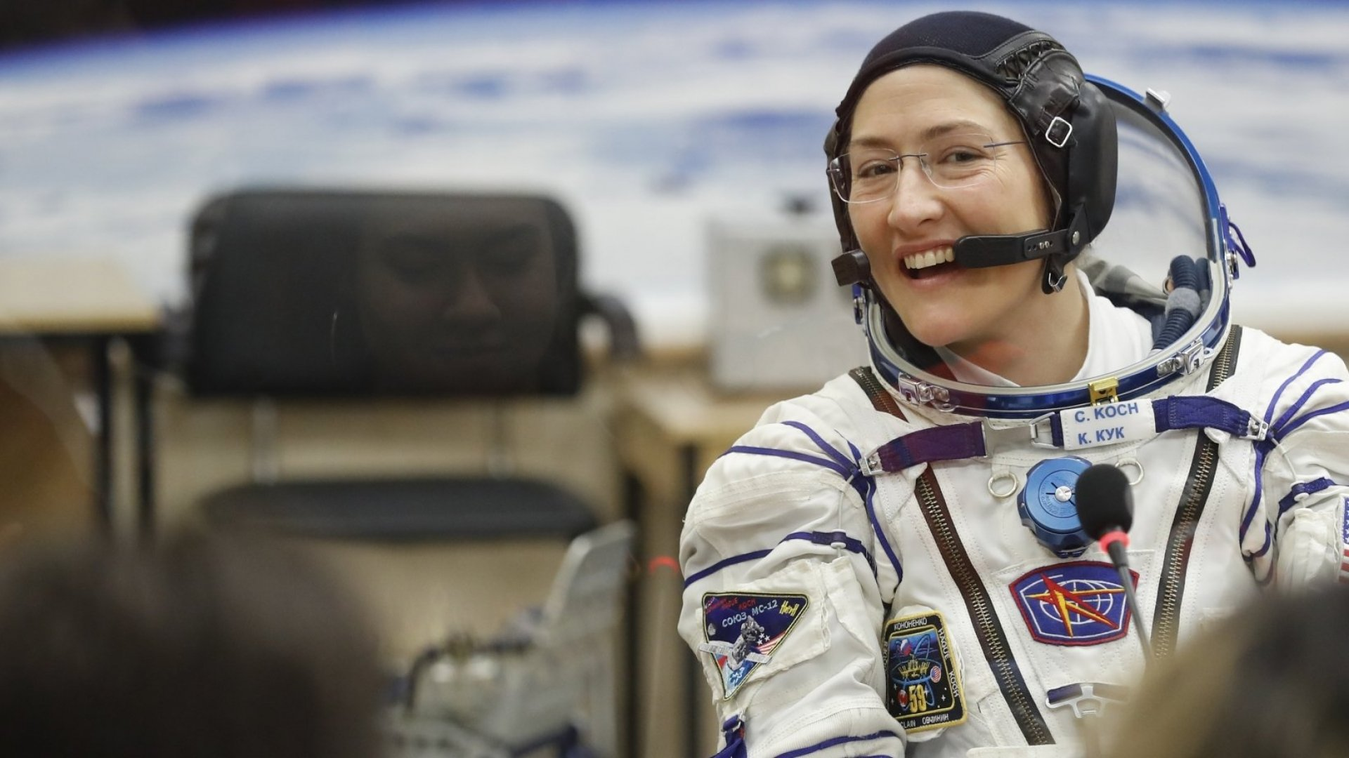 NASA astronaut Christina Koch.