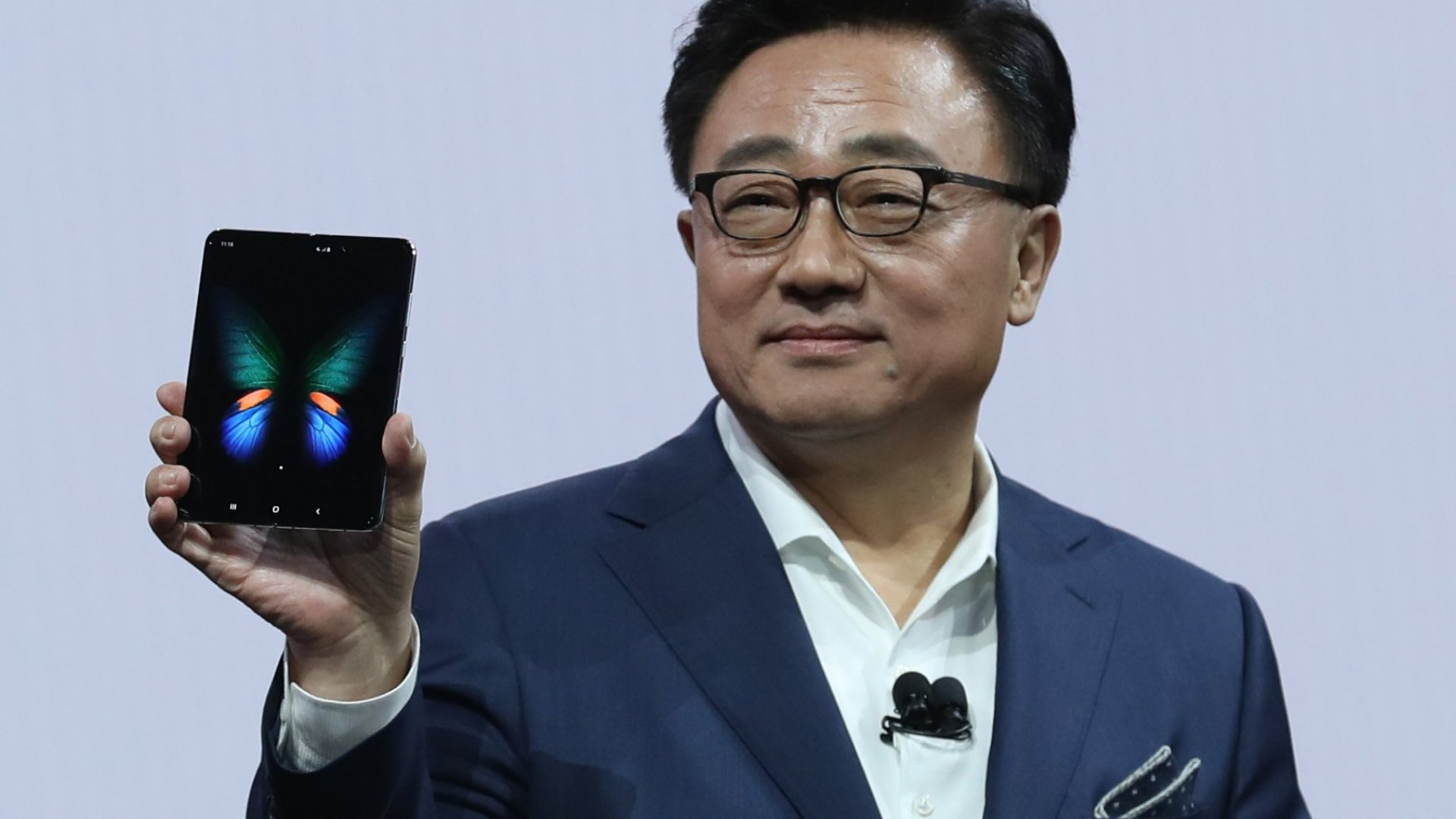 This Is What Samsung's CEO Just Said About How Badly He Got It Wrong on the Galaxy Fold