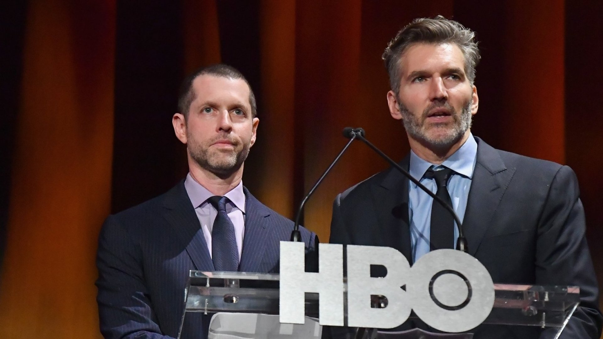 <em>Game of Thrones</em> showrunners D.B. Weiss and David Benioff