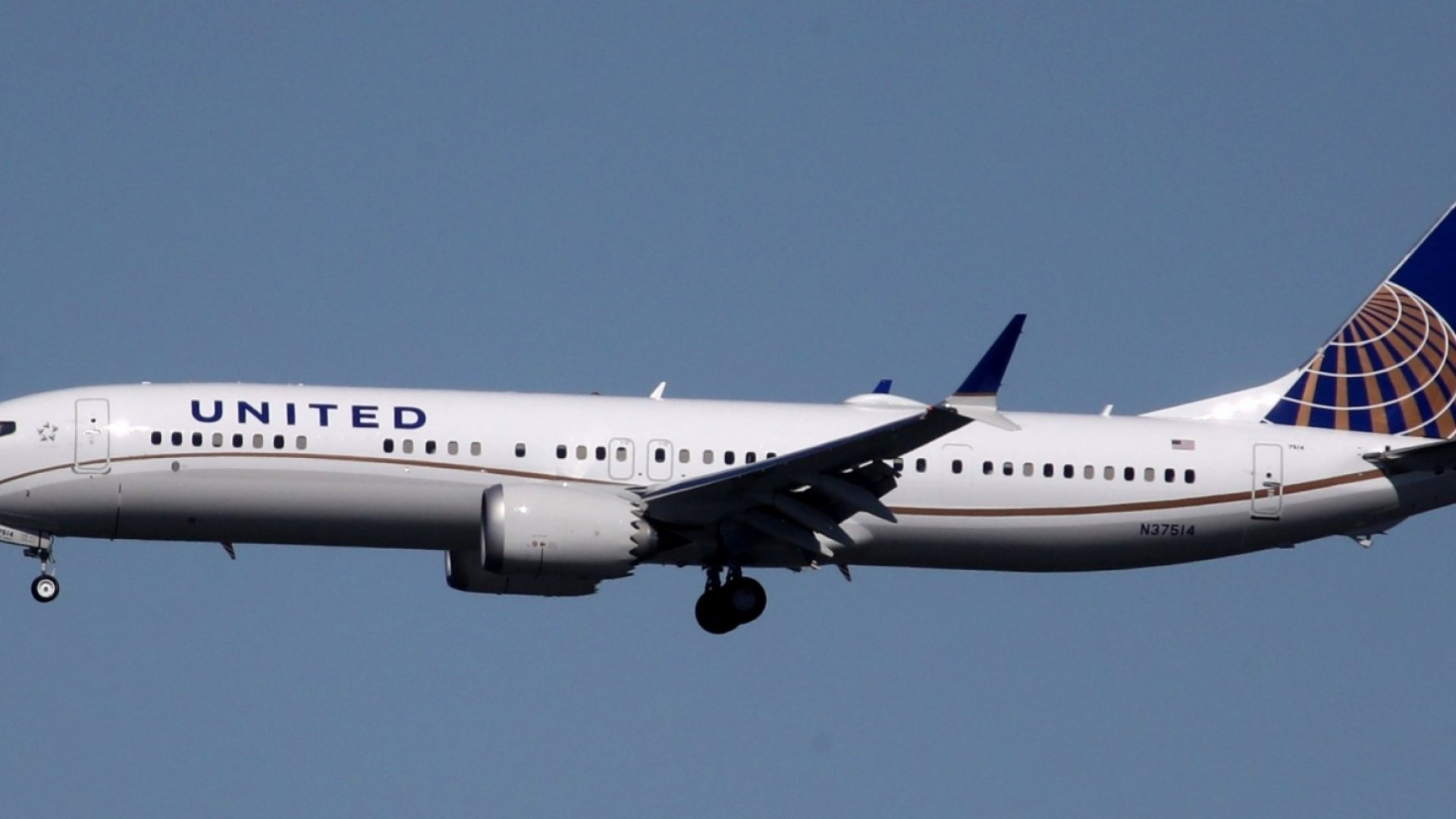 United's 737 MAX 9. Currently not making the airline money.