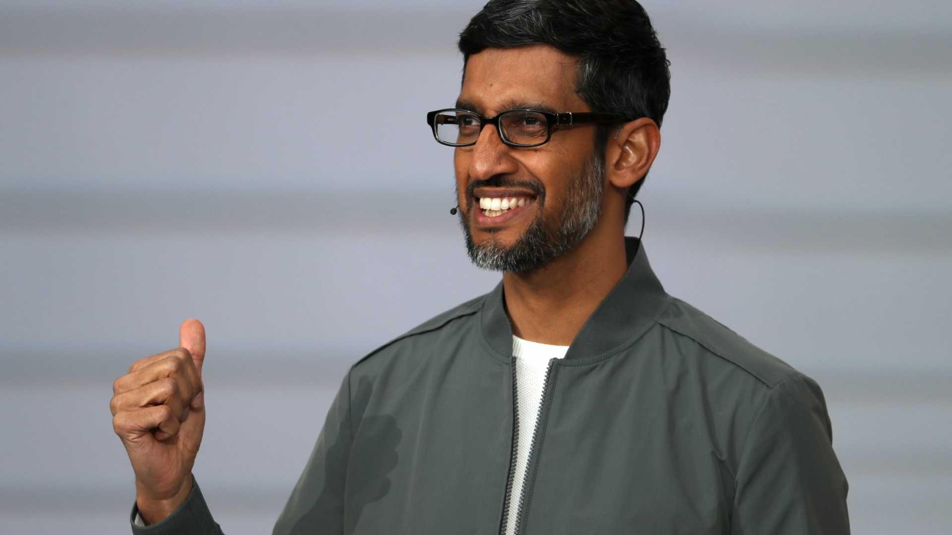 Google CEO Sundar Pichai Got a $242 Million Pay Package to Go With His Promotion