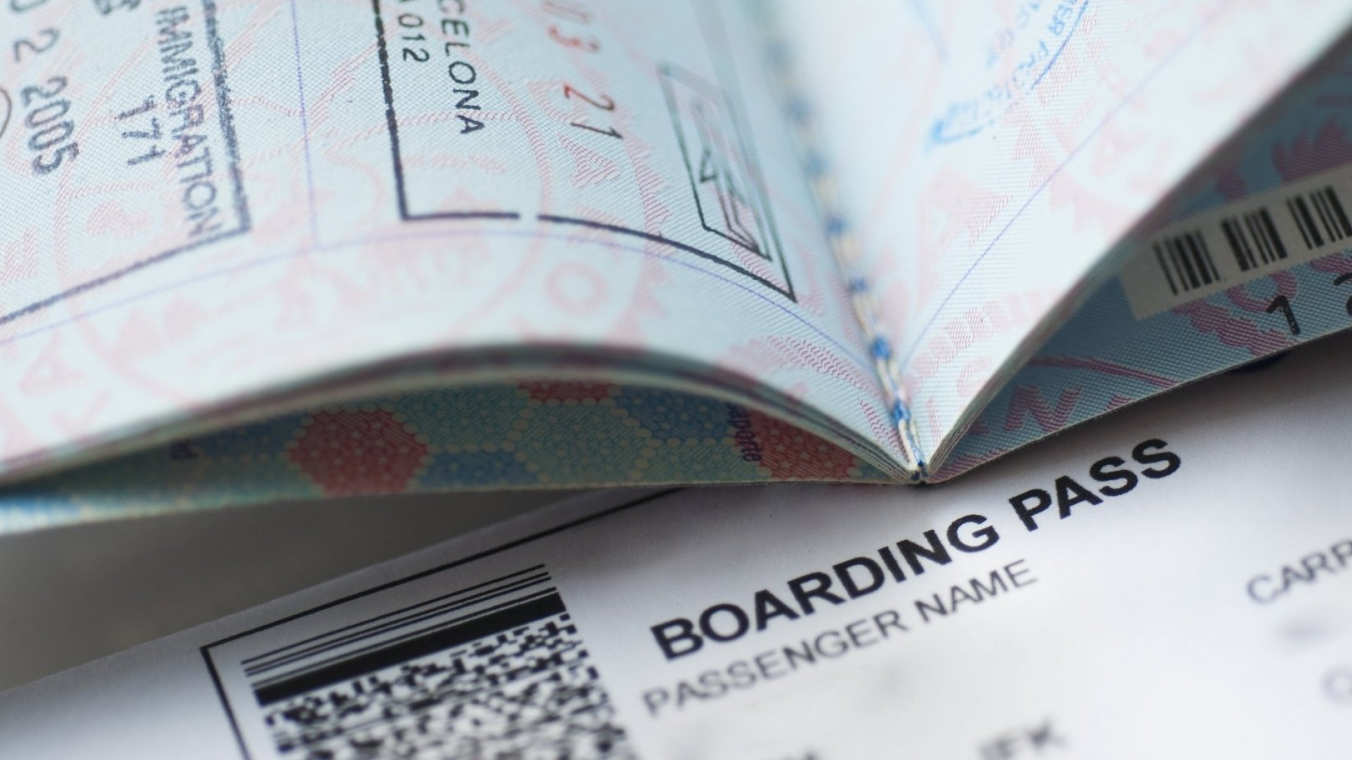 Depending on the airline, the barcode on the bottom of boarding passes may contain sensitive information.