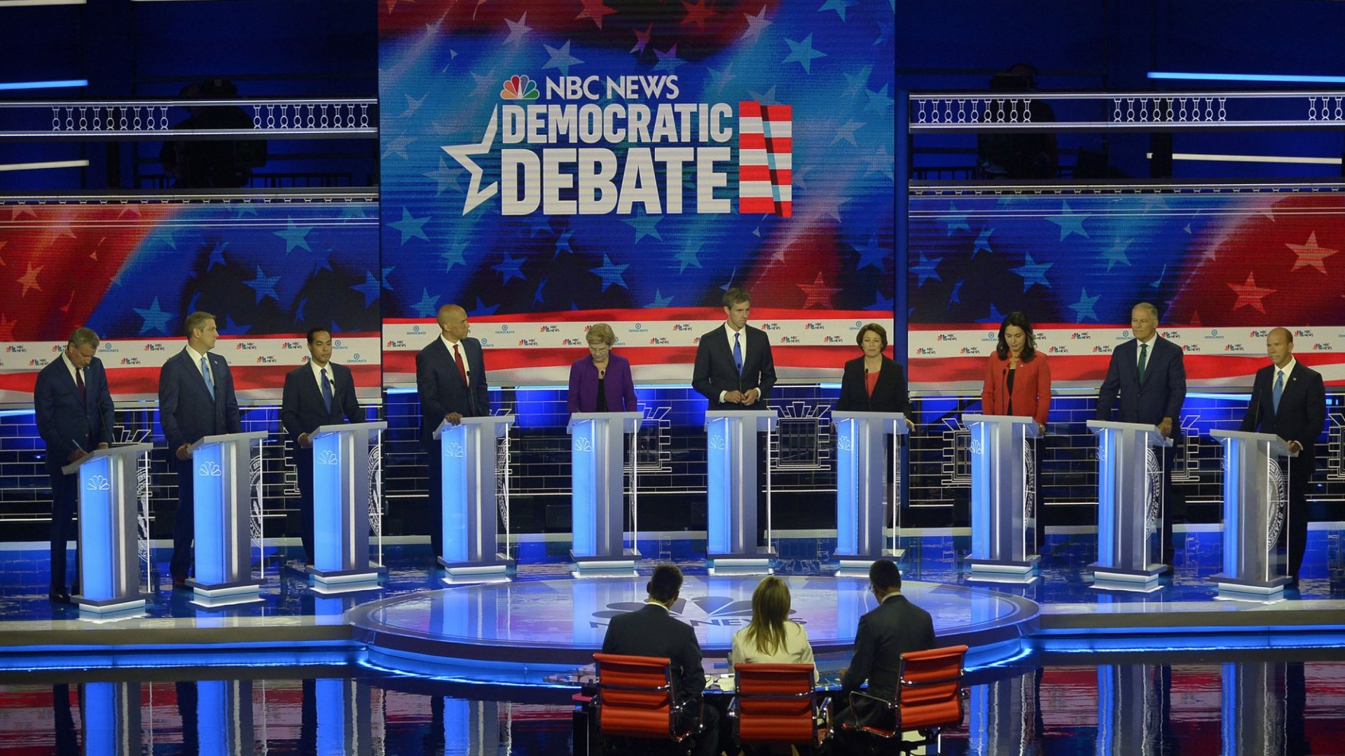 With the Past Two Nights' Democratic Debates, We Officially Kick off the Country's Worst Job Interview Process