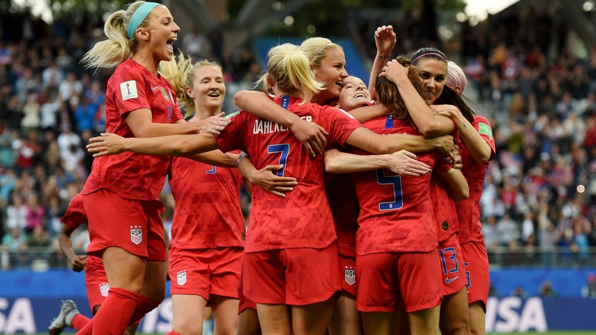 The U.S. Women's National Soccer Team Embodies Greatness, Historically and Now