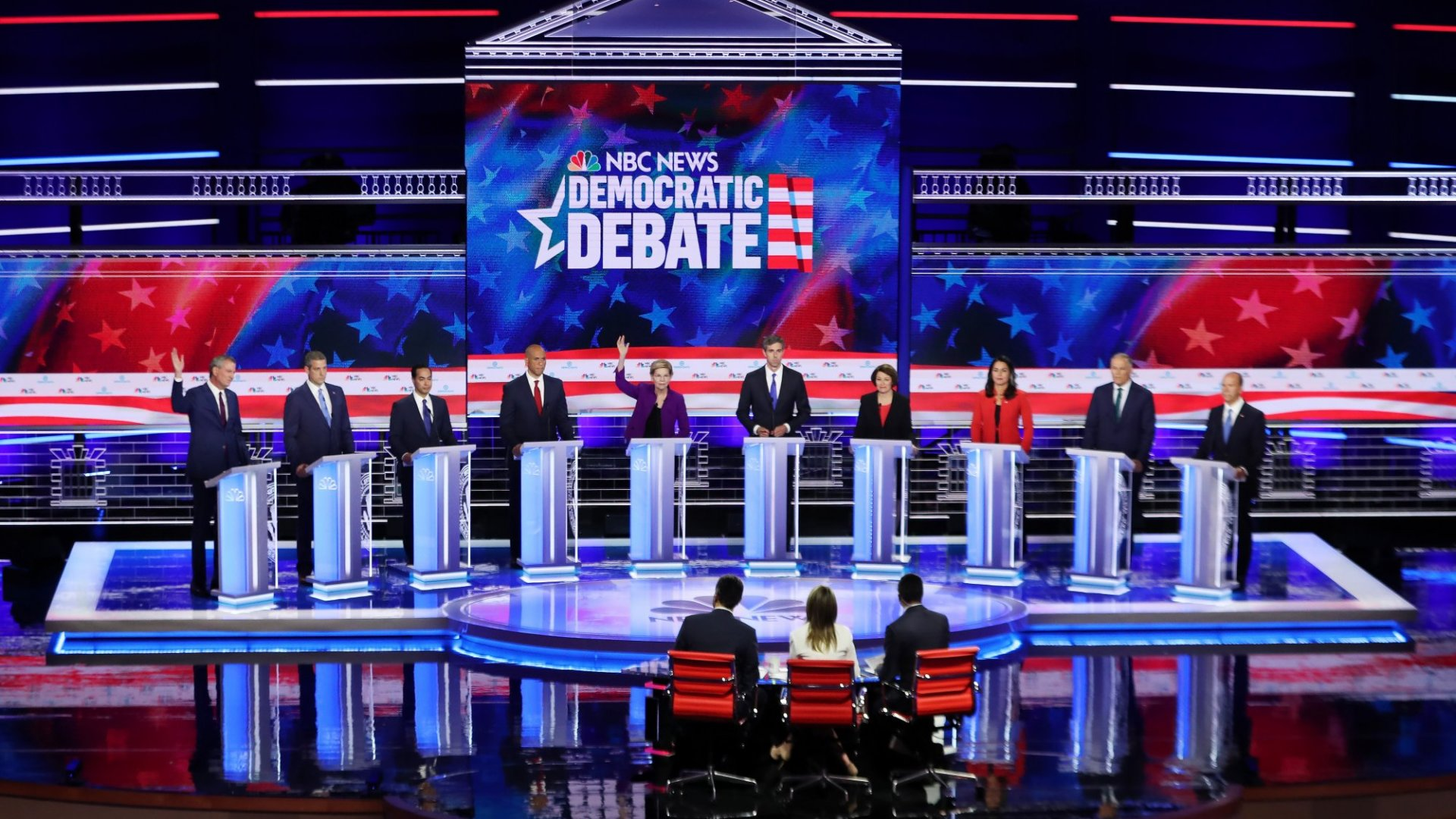 Who Won the Democratic Debates? Here's the Answer According to Google Searches