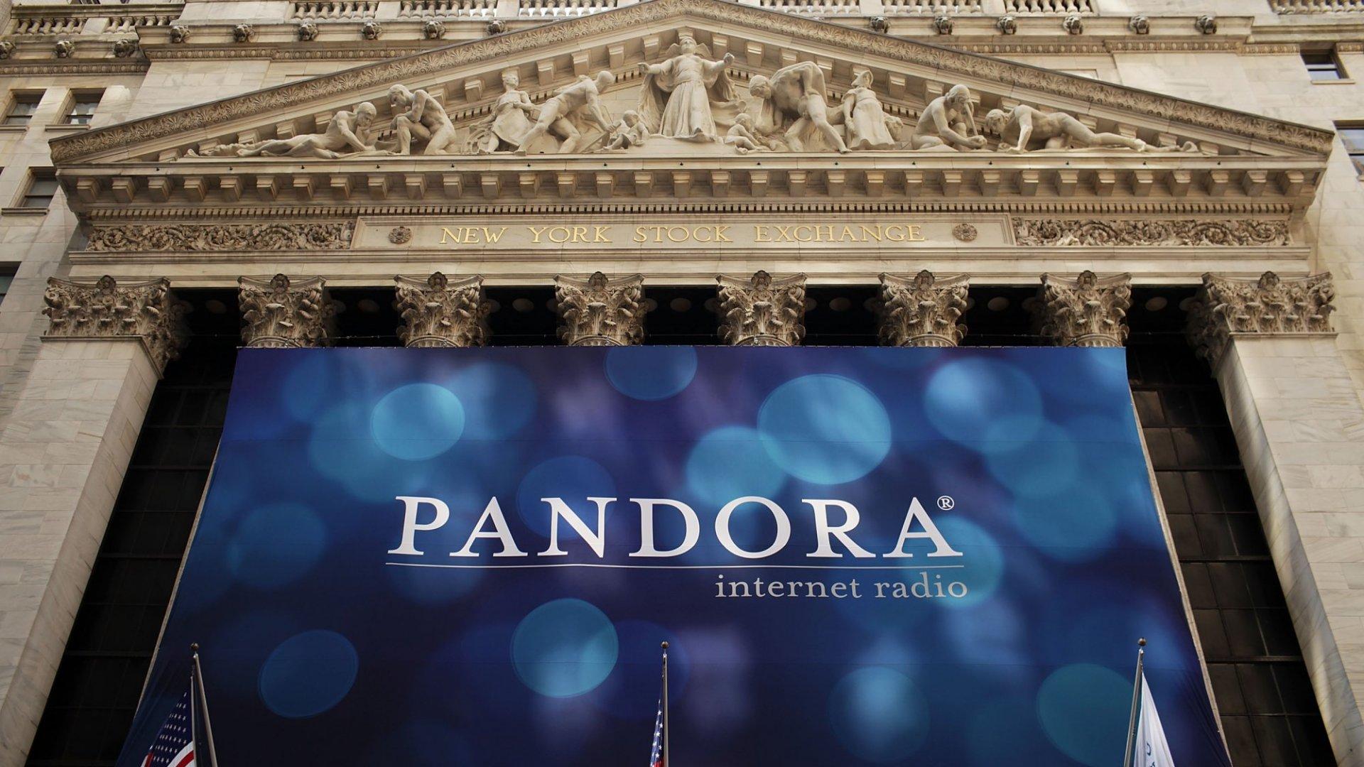 Pandora Is Considering Selling Itself