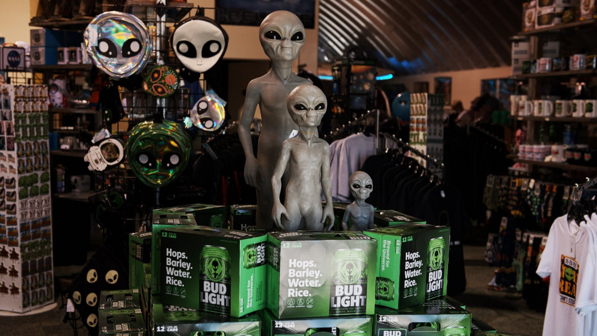 Bud and Arby's Show that if You Storm Area 51, Marketers Will Come