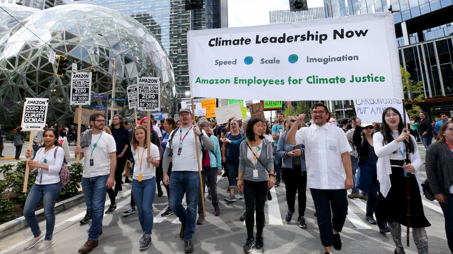 Amazon Employees Make Public Statements, Intentionally Violating Company Policy