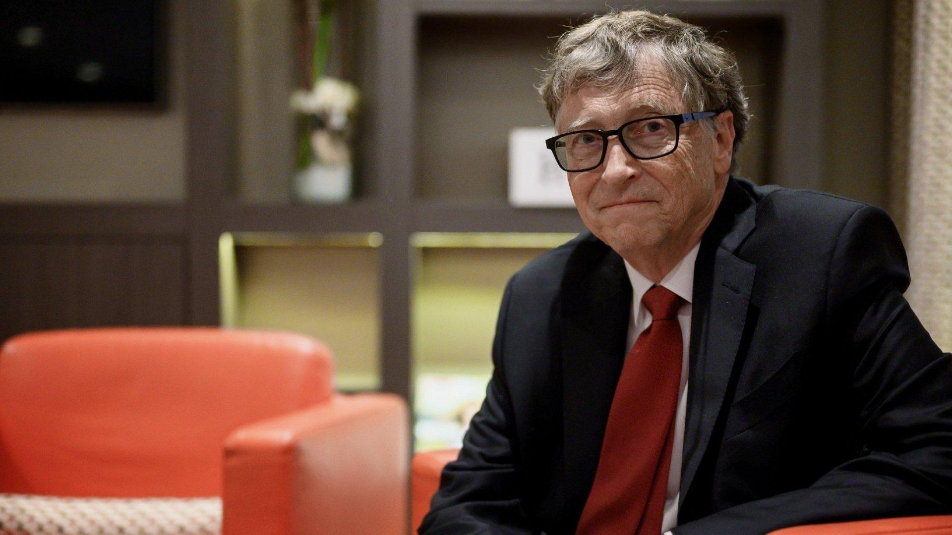 Bill Gates Is Leaving Microsoft's Board to Focus on Philanthropic Efforts