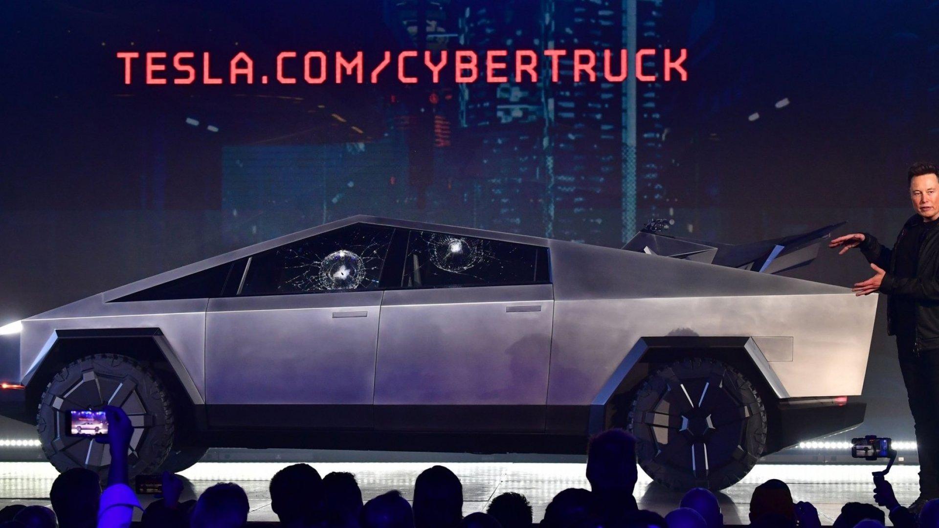 Elon Musk's Tesla Truck Demonstration Fail Shows That Taking Risks Is Always Worth It