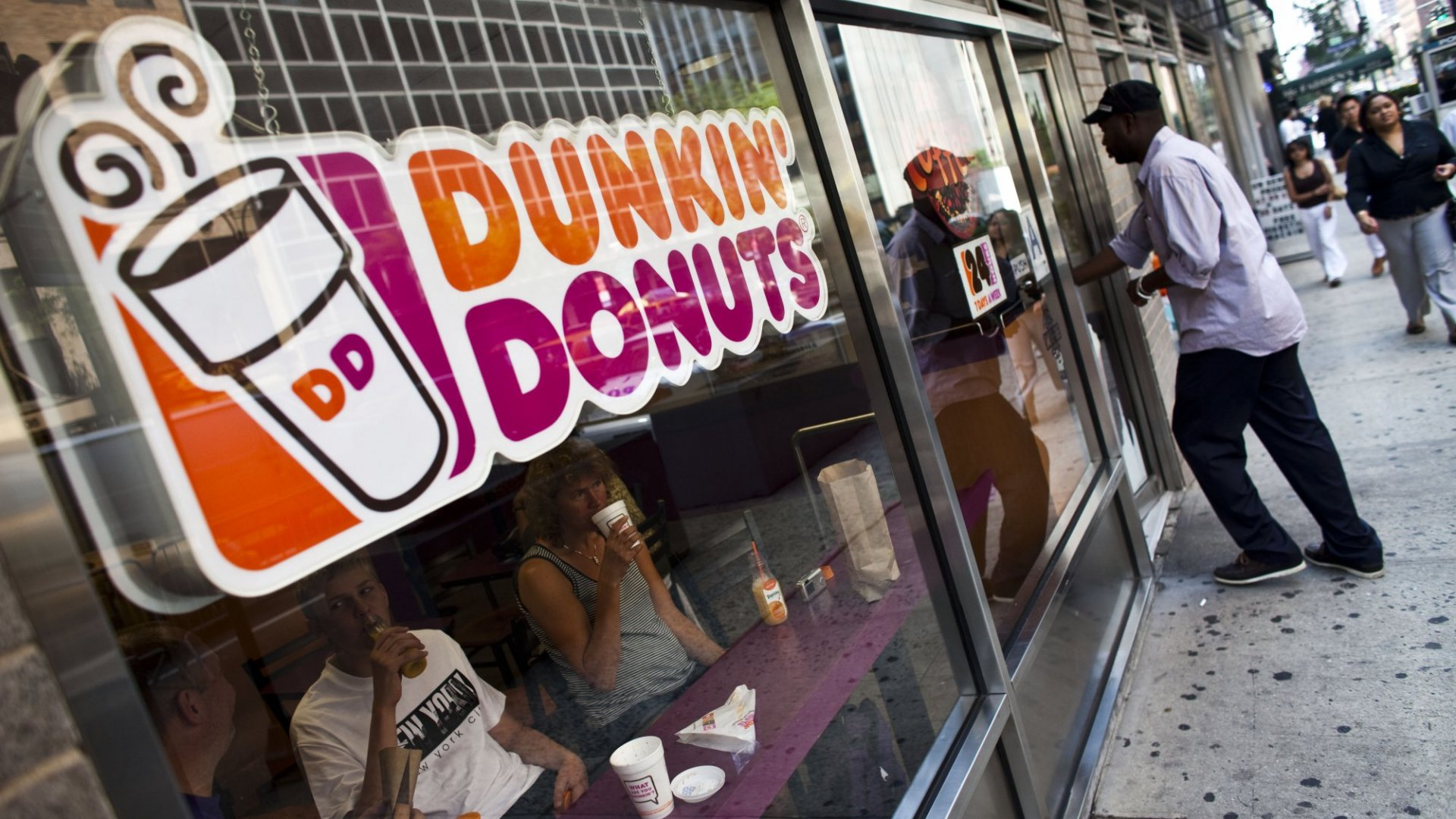 Dunkin' Donuts Just Made a Truly Stunning Announcement That Will Change Everything You Think About Dunkin'. (It's Much More Than Just Changing Their Name)