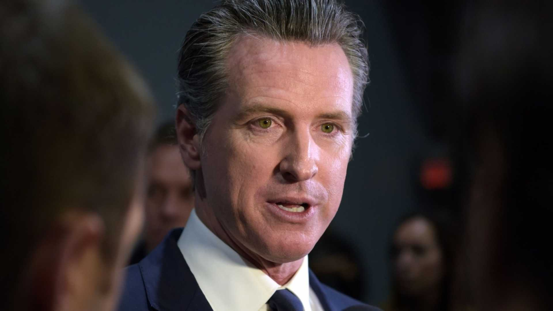 California Governor Gavin Newsom Describes Conditions for Easing Stay-at-Home Order