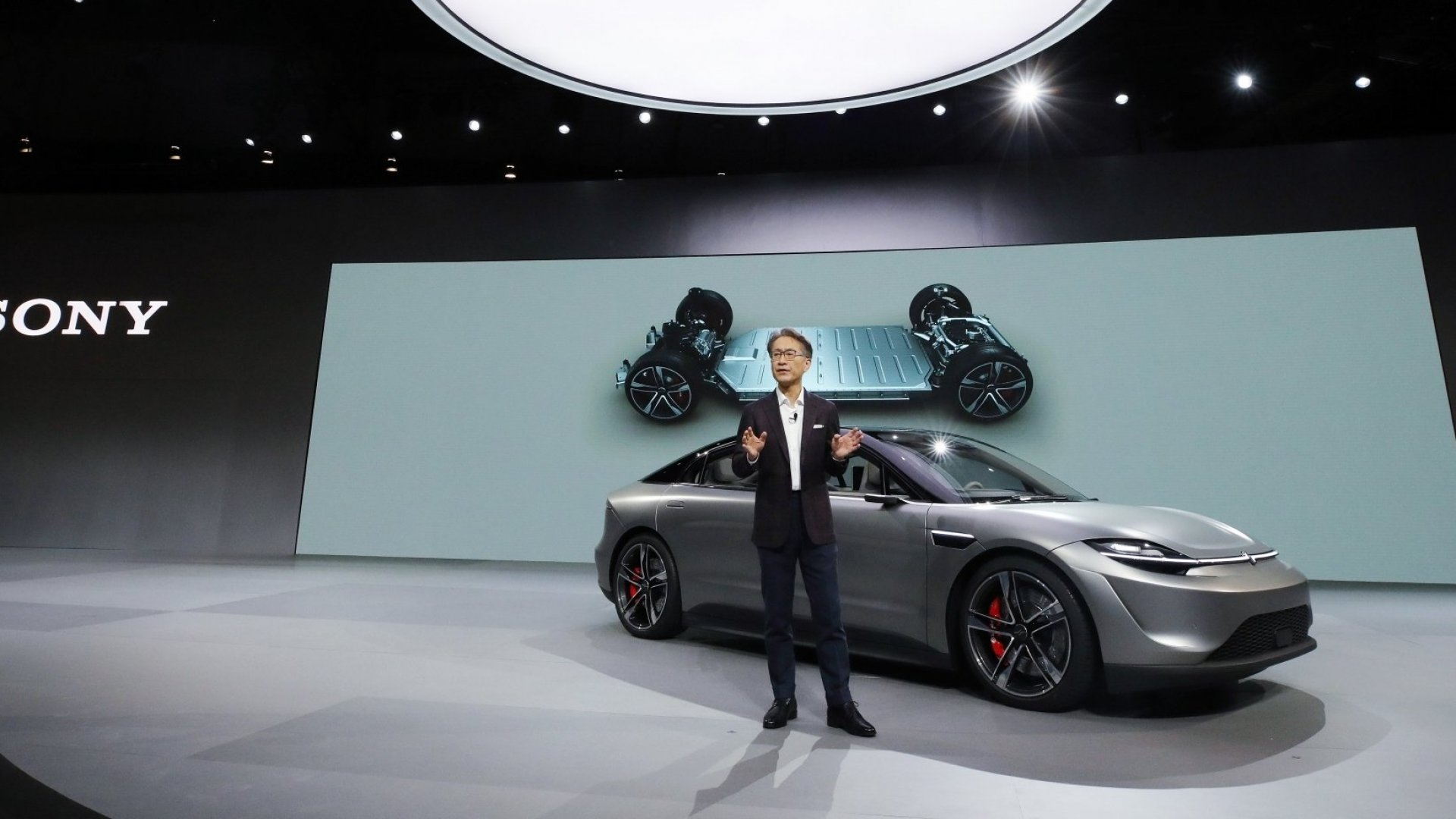 Here's Why Tesla Will Want to Take Note of Sony's Vision-S Electric Car Prototype