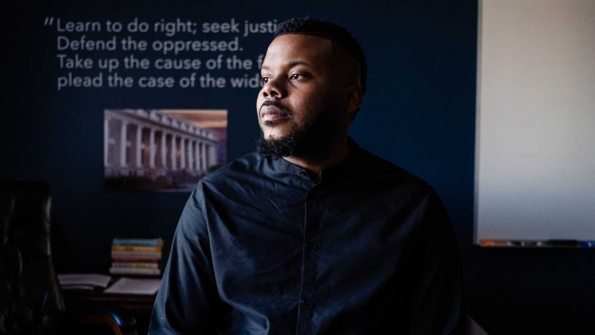 Stockton, California, mayor Michael Tubbs.