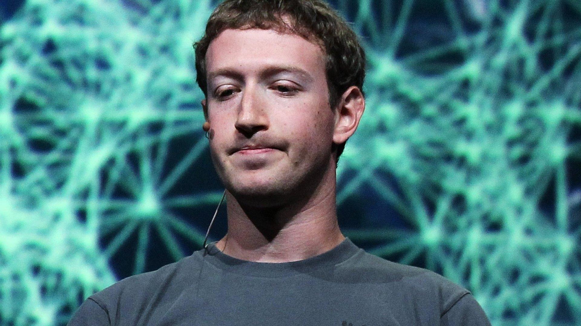 Under a microscope: Mark Zuckerberg