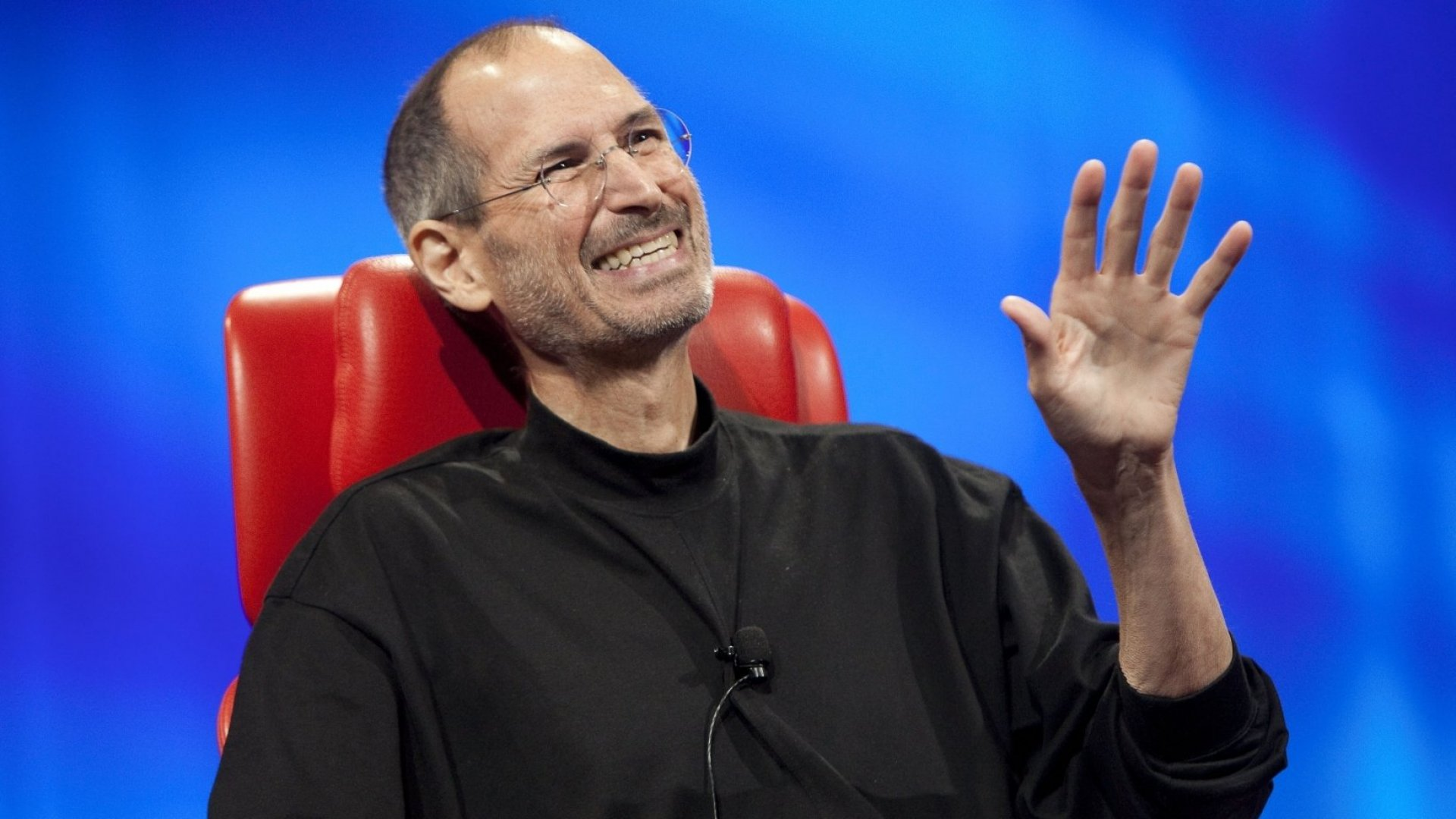 Steve Jobs speaks at All Things Digital in 2010. (Photo by Rick Smolan/Against All Odds Productions/Getty Images)