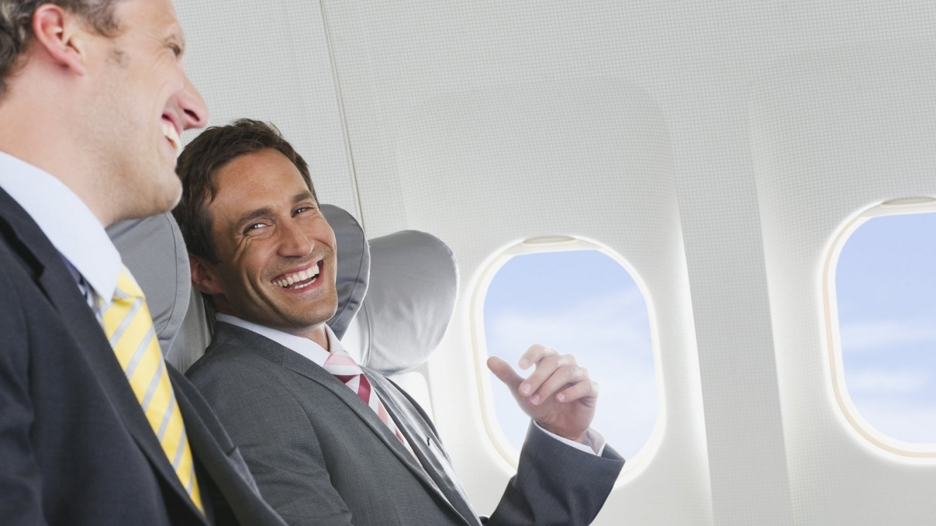 The 4 Best Ways to Network on Your Next Business Flight