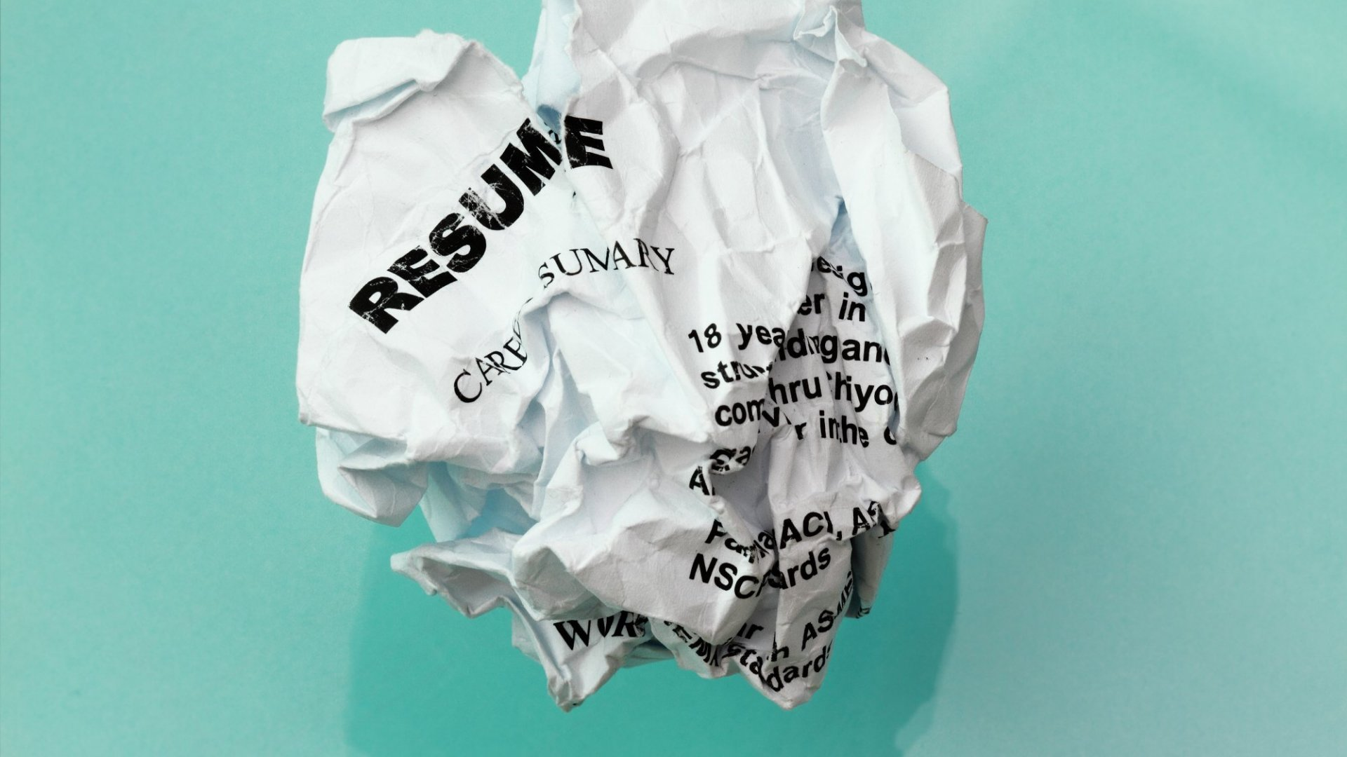 3 Reasons Your Resume Is Being Ignored