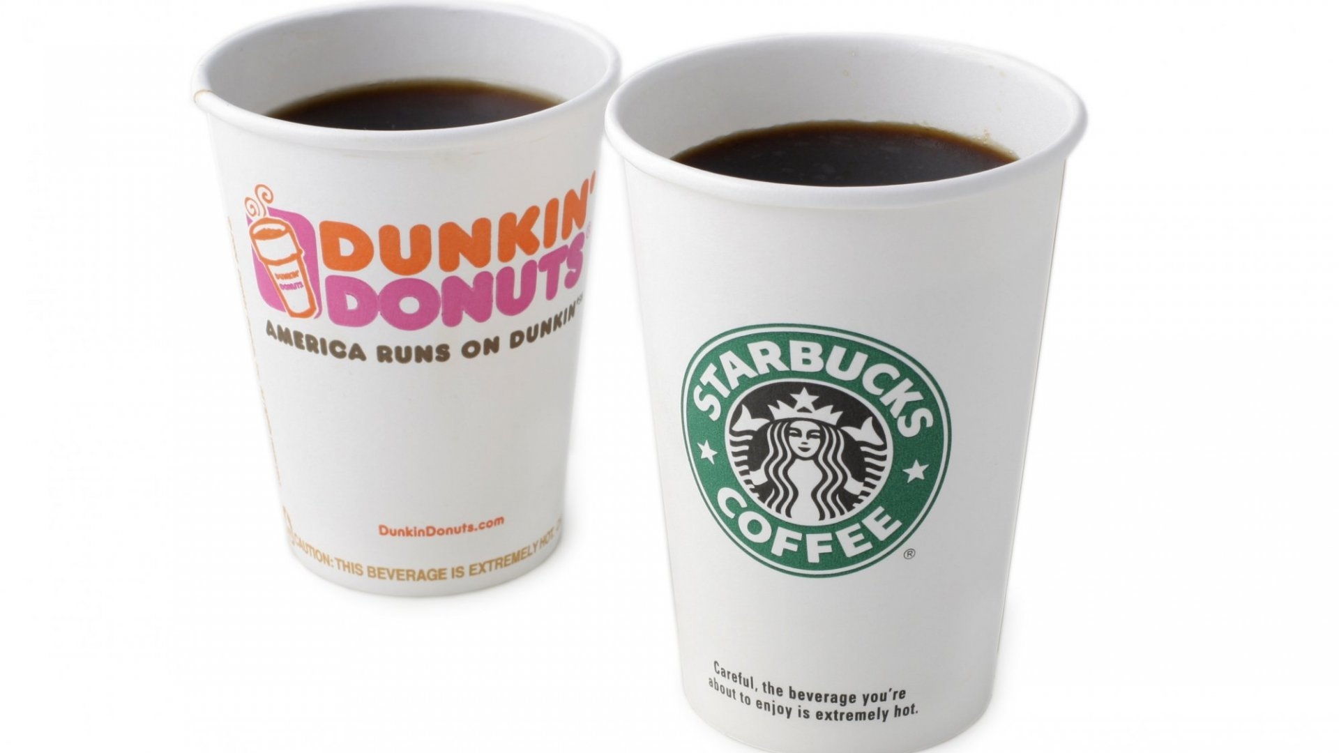 Starbucks and Dunkin's Secret to Success Isn't About the Coffee