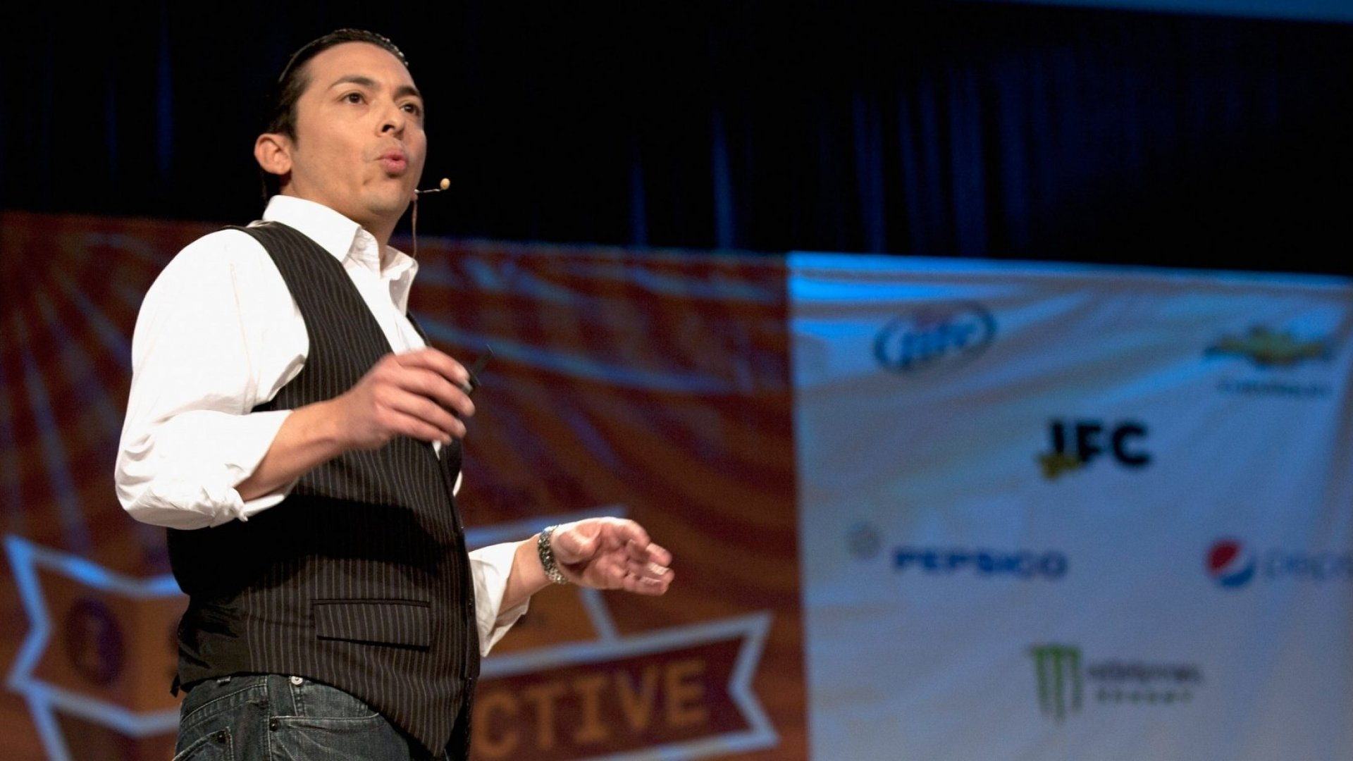 Much of Brian Solis' writing has sought to help marketers engage their audiences better. With this latest book he's trying to lead by example, utilizing online design methods intended to keep readers engaged. (Photo by Sean Mathis/WireImage)