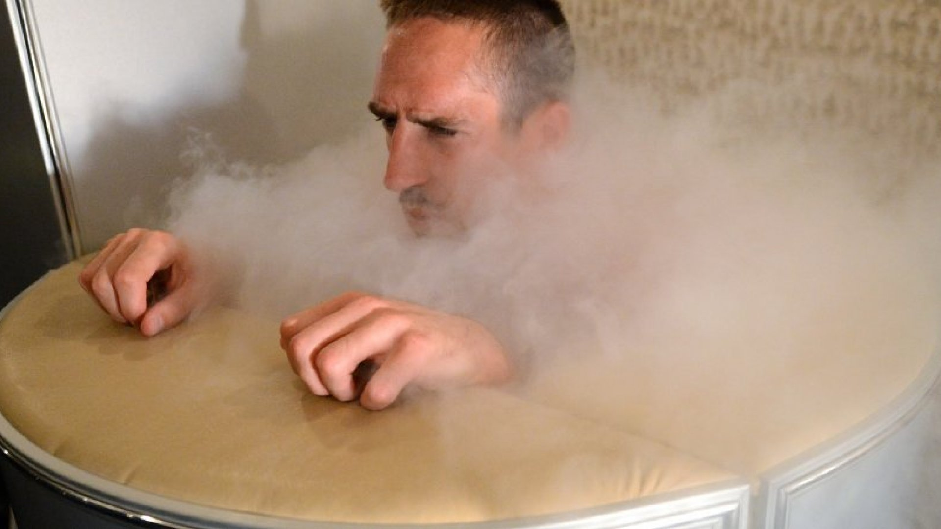 You've Heard of a Brain Freeze--How About a Whole Body Freeze?