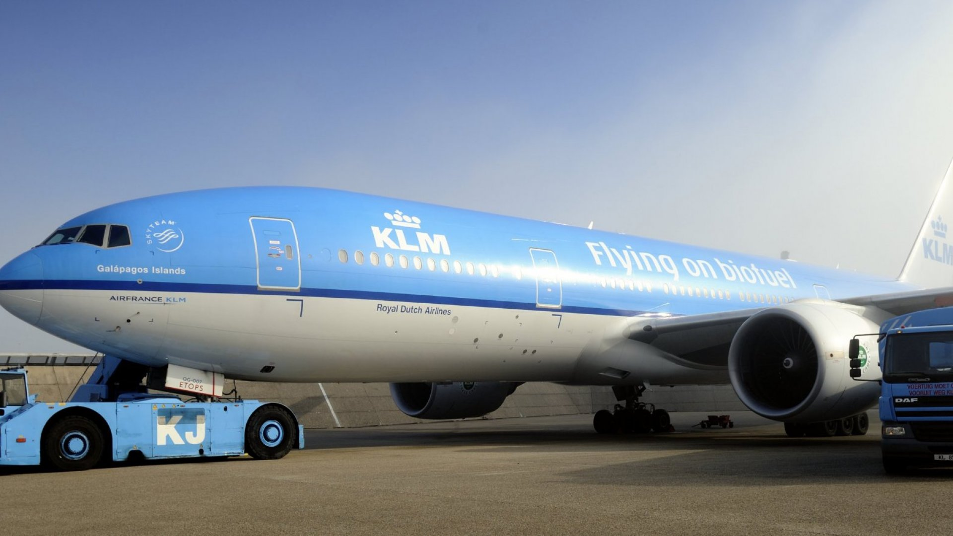 KLM Has a Surprising Request for Passengers: Don't Fly