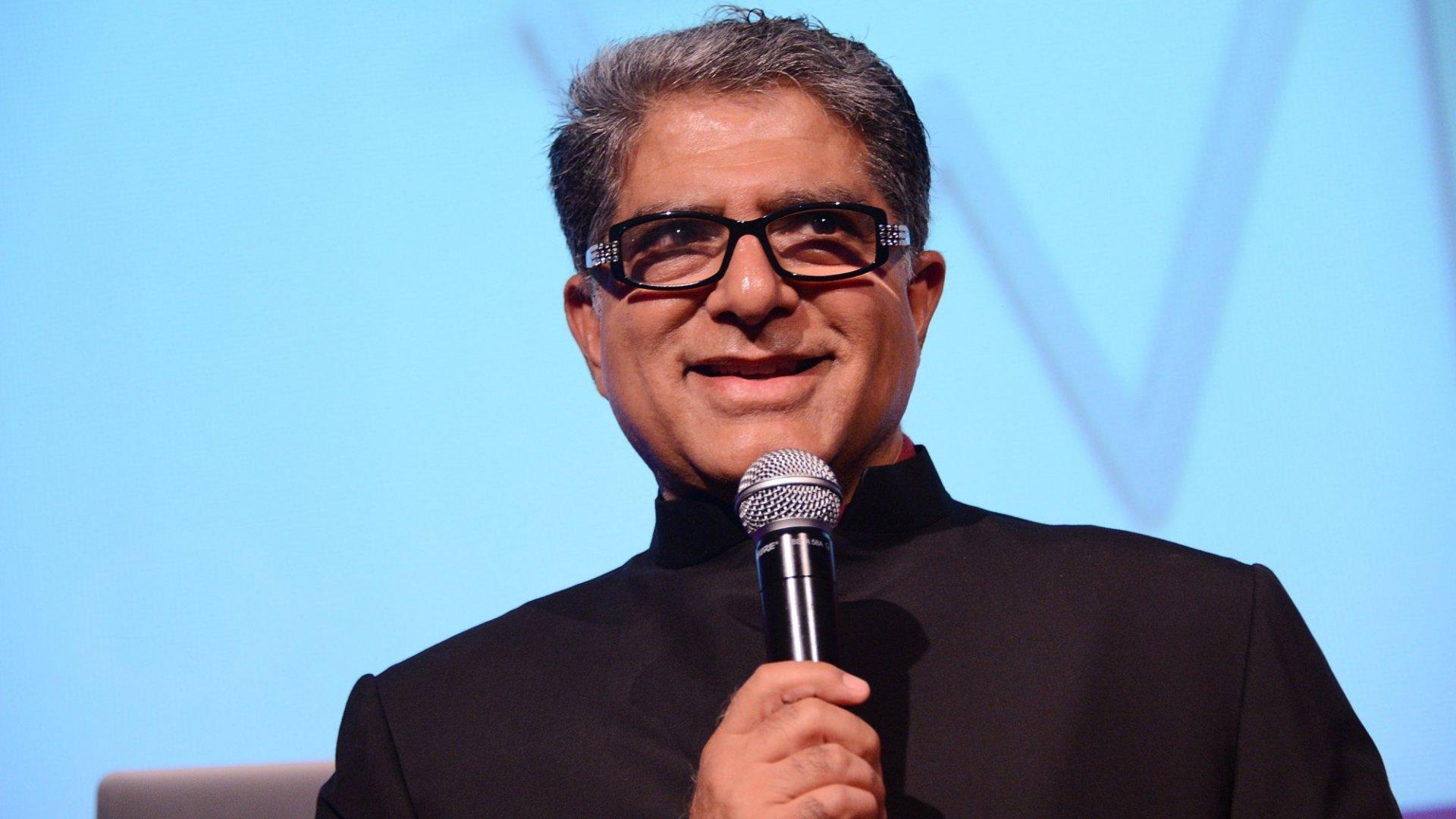 Deepak Chopra, speaking in New York in 2012.
