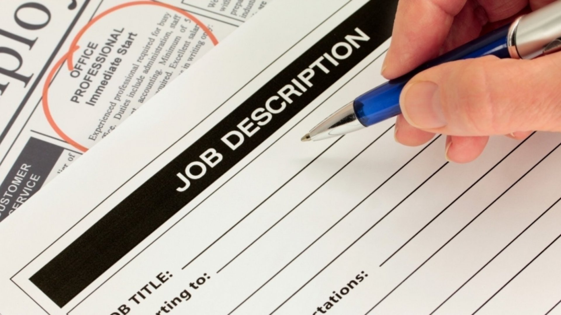7 Steps to Writing the Perfect Job Description