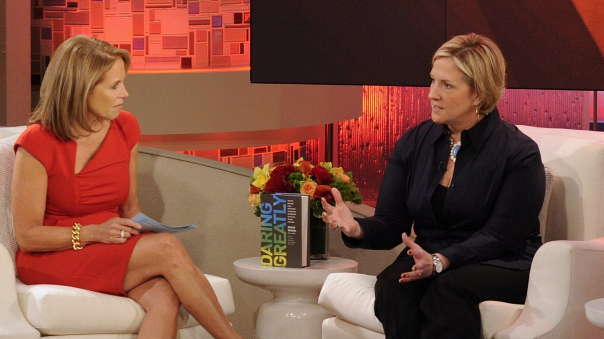 Brene Brown, vulnerability researcher at the University of Houston, is a guest on <em>Katie</em>.