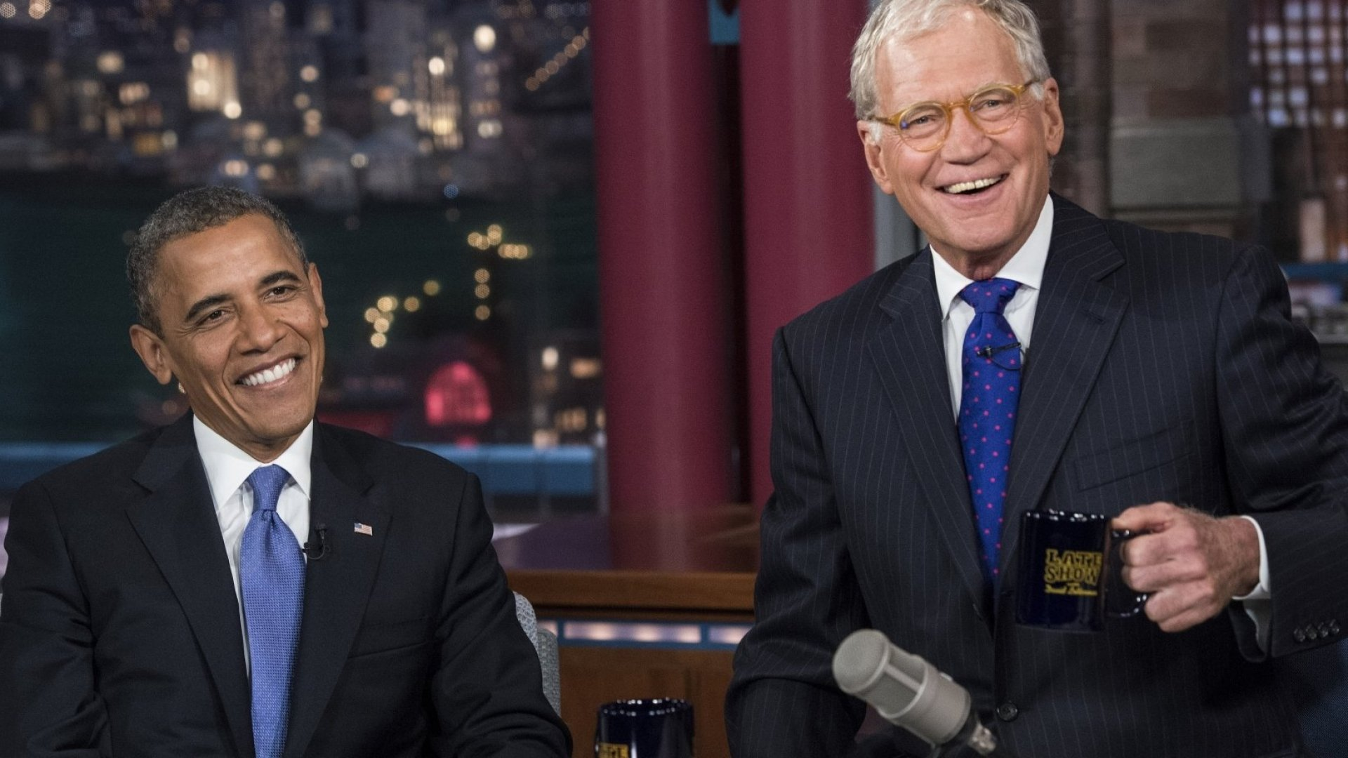 Hollywood Stars, Presidents Join Letterman for Final Act