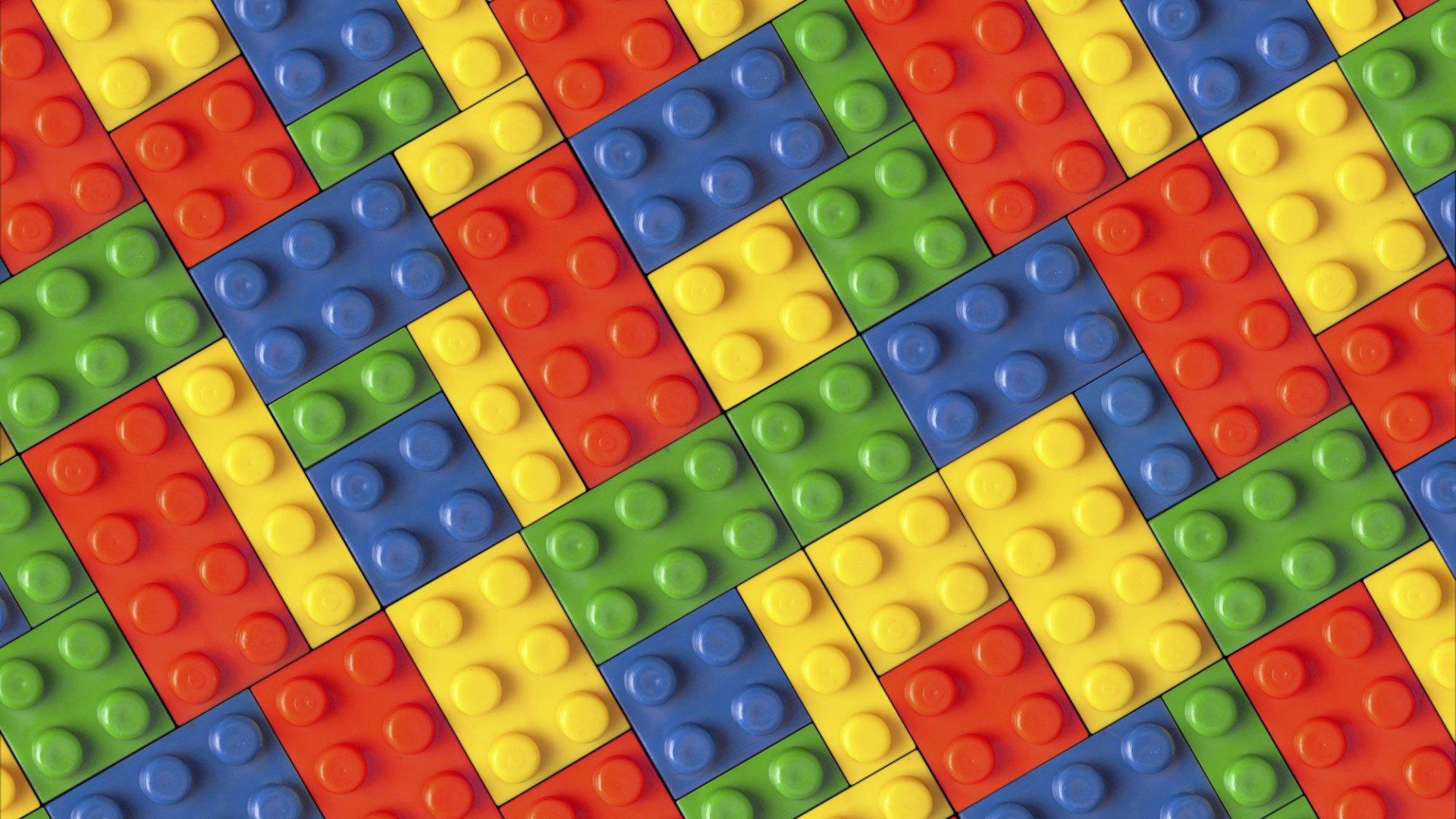 Lego toy building bricks.