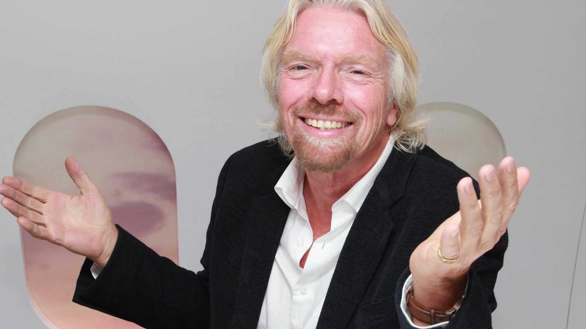 Virgin Group founder Sir Richard Branson has some advice for work -- and life.