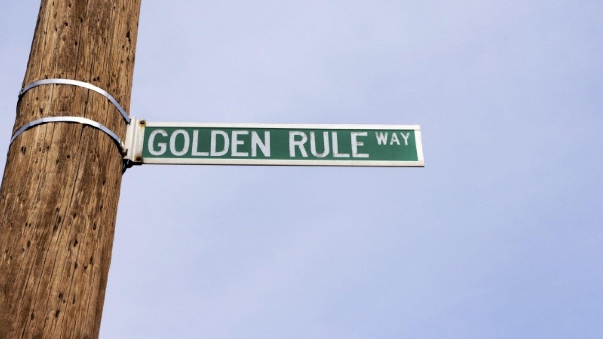 Golden Rule Reigns Supreme