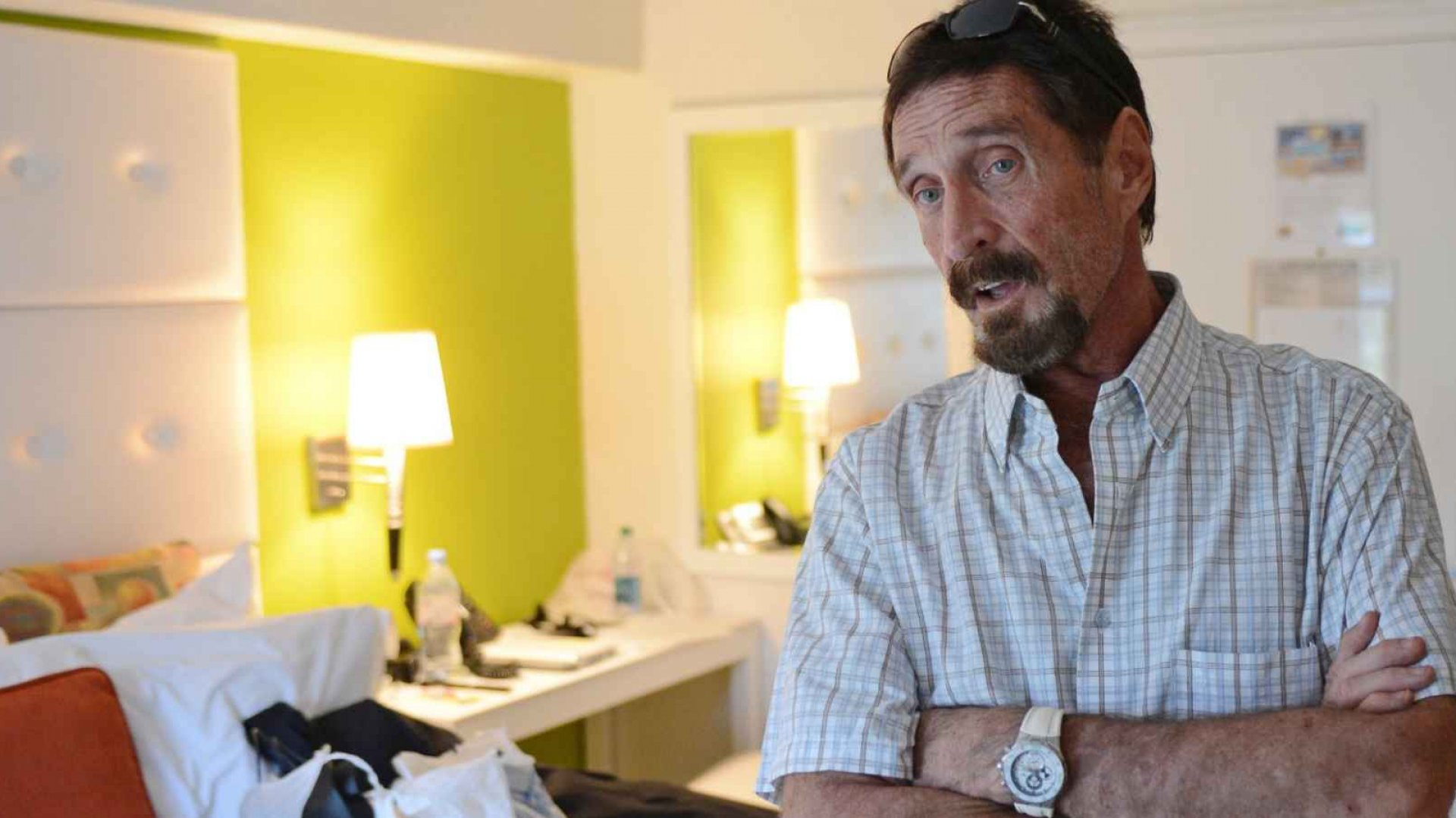 Software Pioneer John McAfee Reportedly Running for President