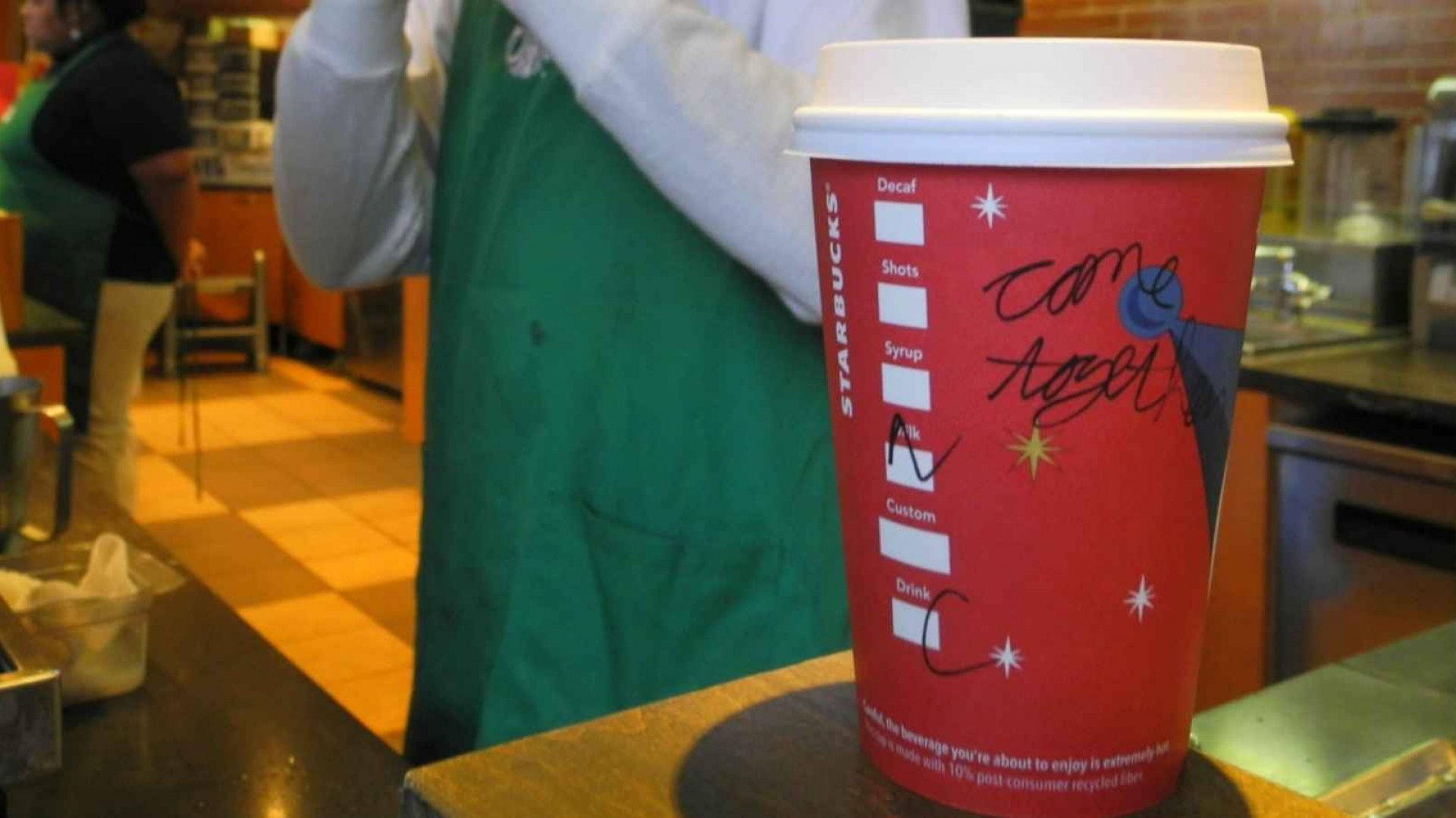 This Is What Starbucks Got Wrong With Its Red Coffee Cups