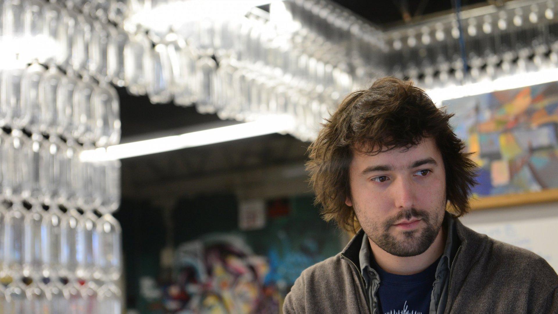 Tom Szaky, the founder of TerraCycle.