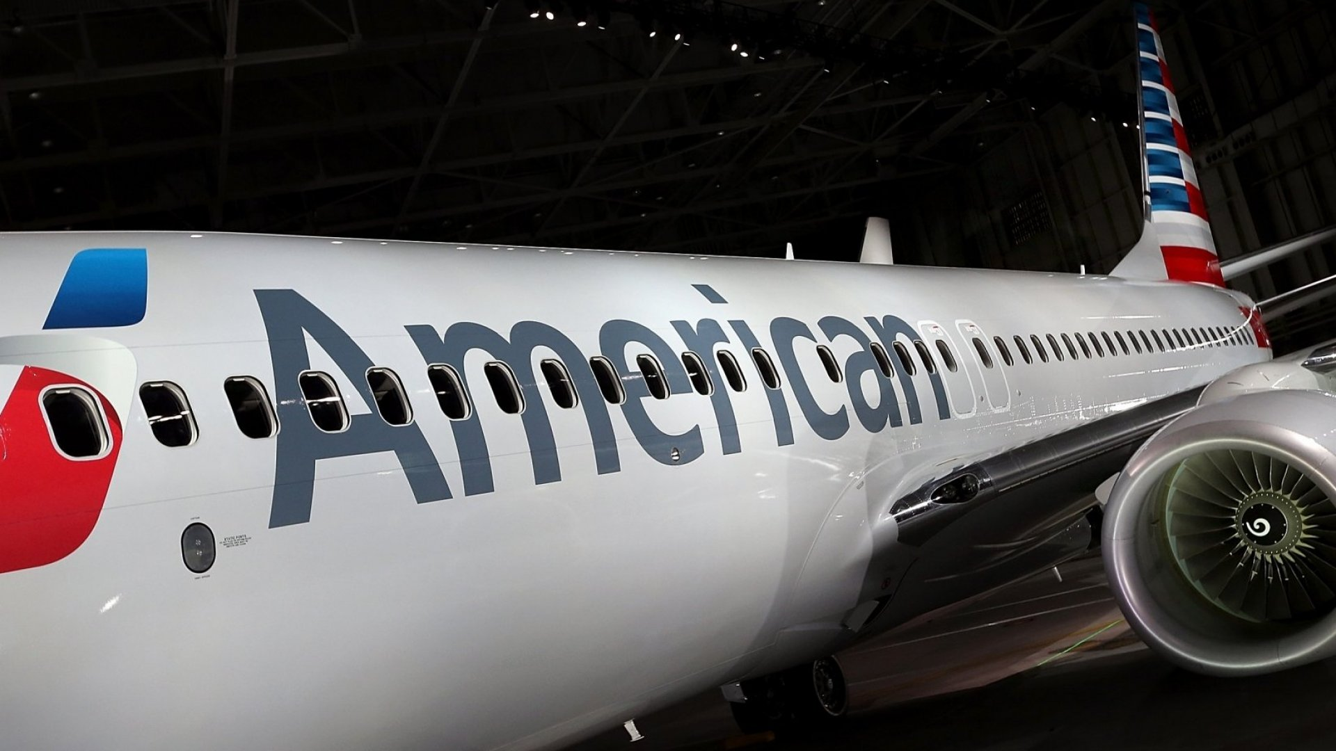 American is reconfiguring many of its existing 737s in the MAX style.