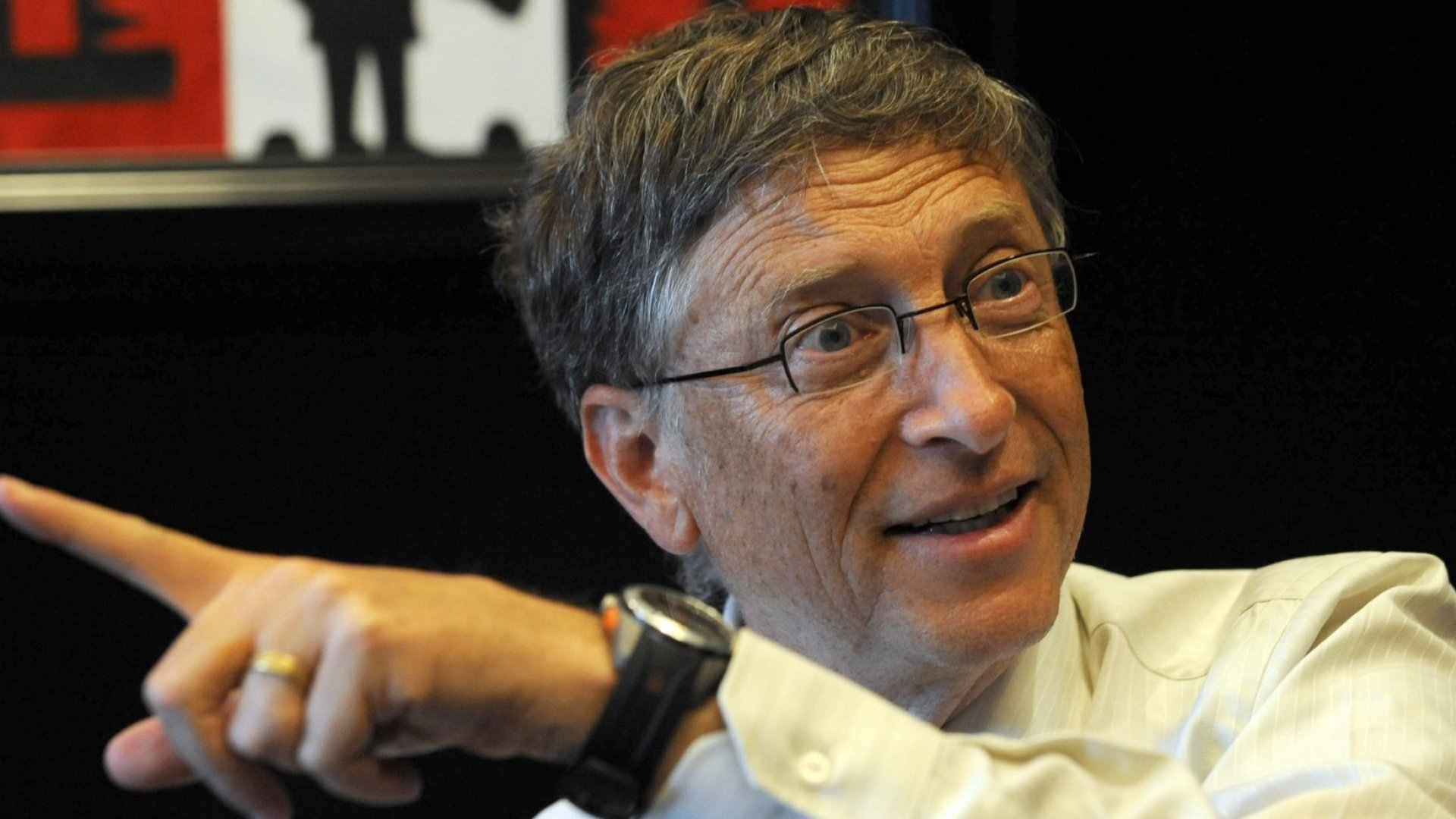 Bill Gates discusses global health in Ghana.