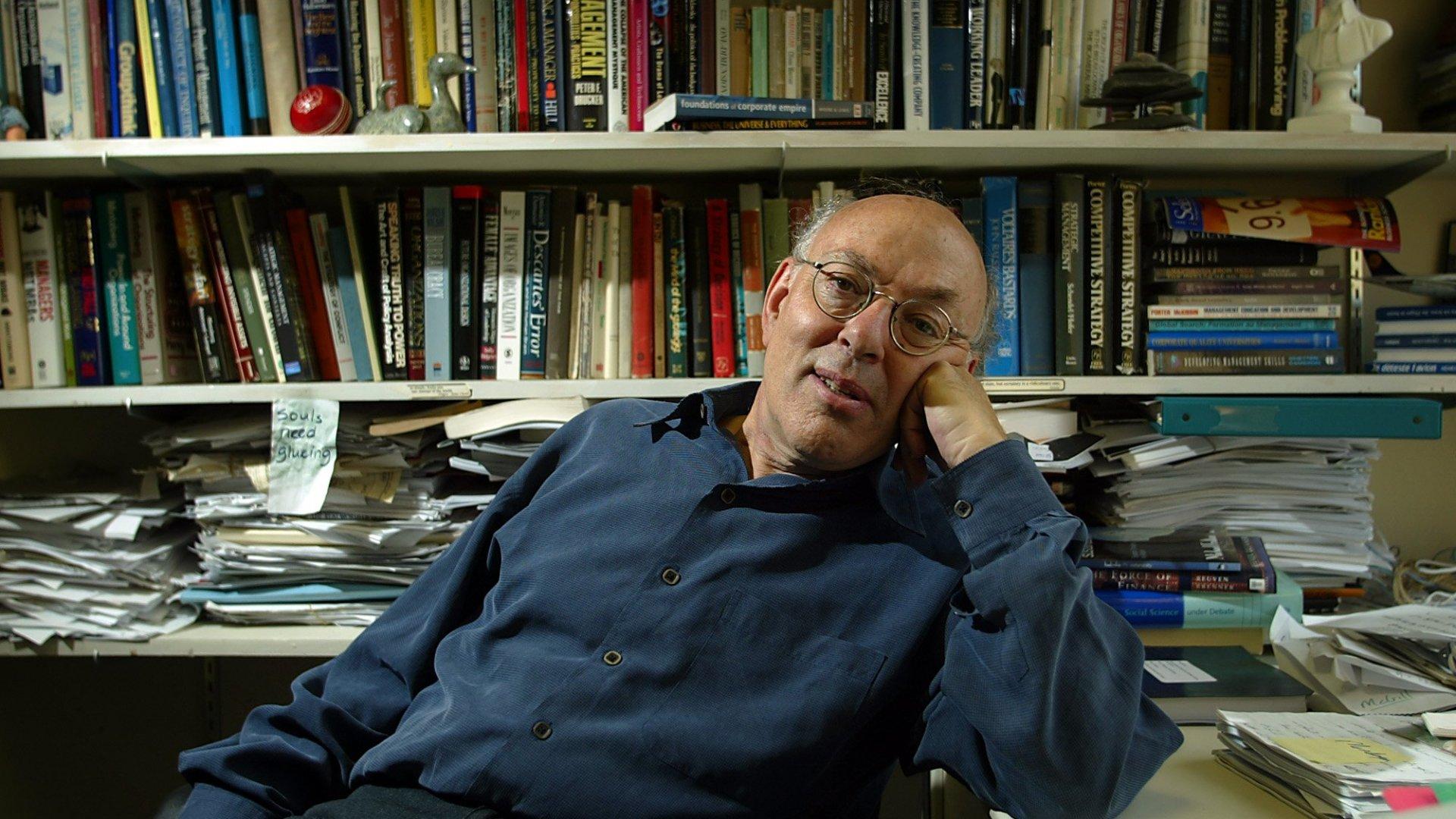 McGill University professor Henry Mintzberg