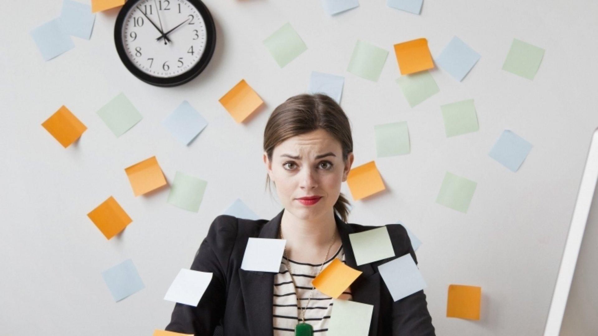 Forget Time Management; Focus on Stress Management